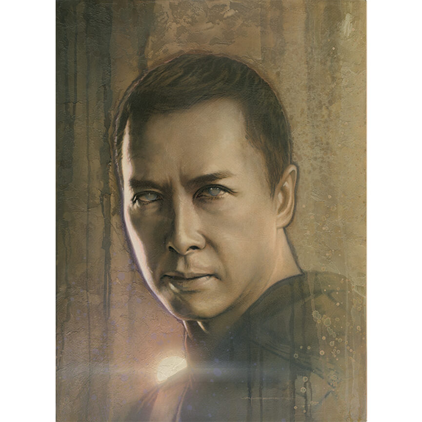 Star Wars Timeless Series: Print #3 - Chirrut Imwe by Acme Archives Artist Jerry Vanderstelt - Zavvi Exclusive (Timed Sale)