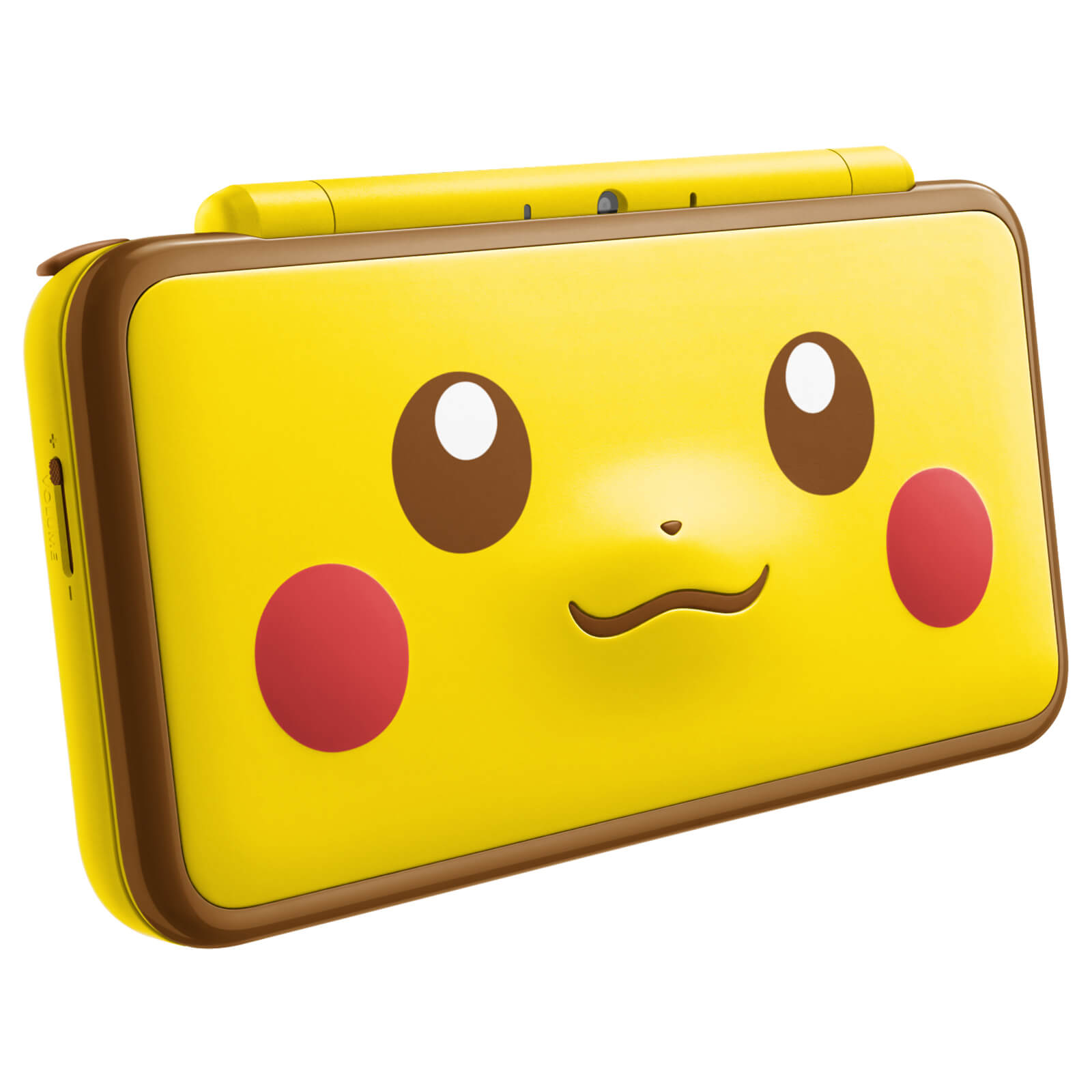 New Nintendo 2DS XL Pikachu Edition Closed
