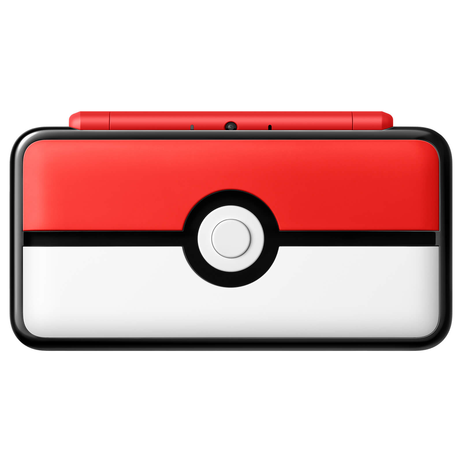 New Nintendo 2DS XL Pokéball Edition Closed Image 2