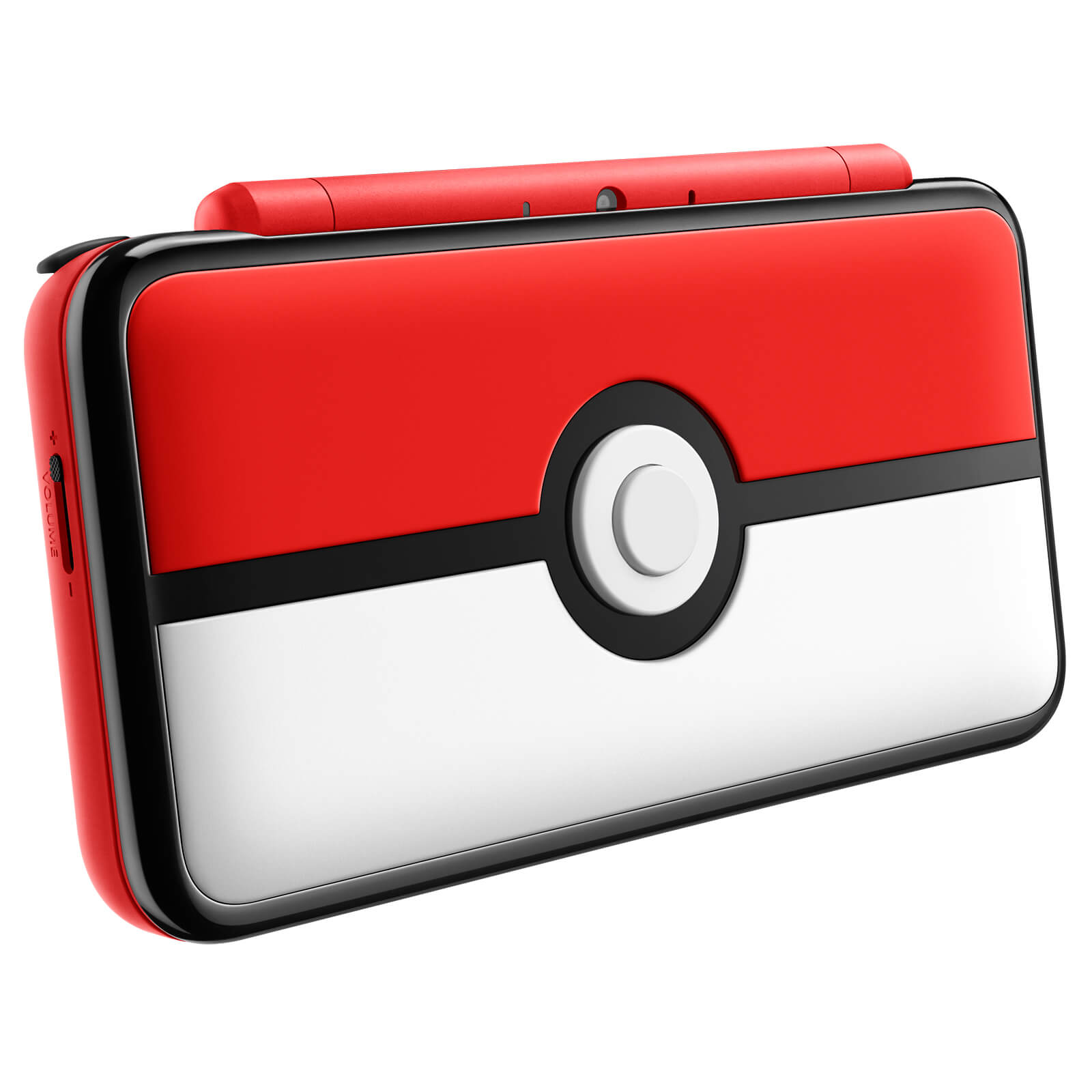 New Nintendo 2DS XL Pokéball Edition Closed