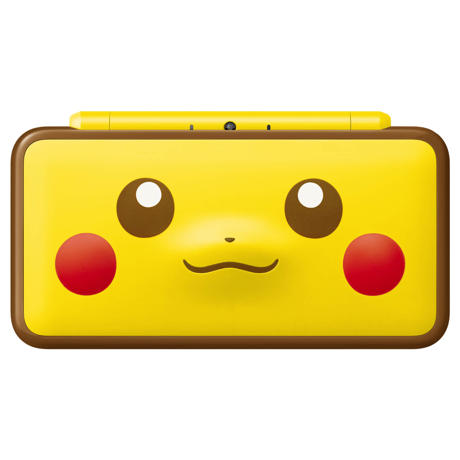 New Nintendo 2DS XL Pikachu Edition Closed Image 2