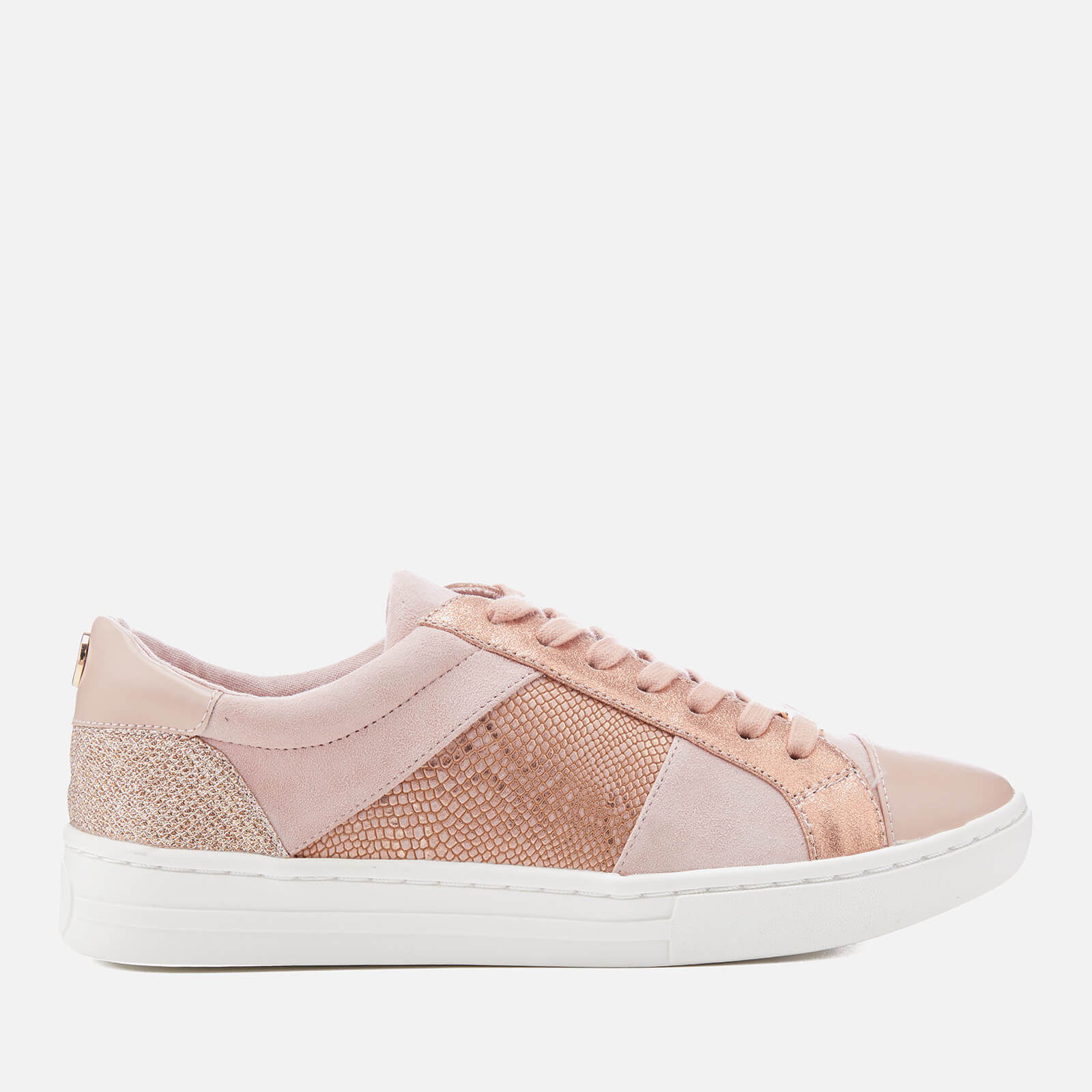 dune pink trainers