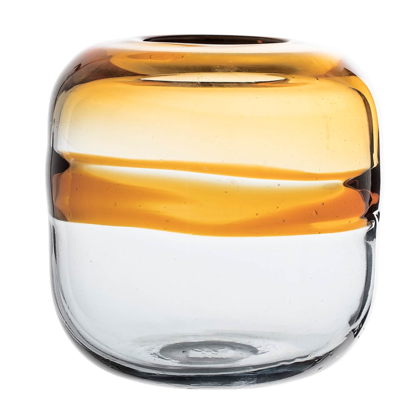 Bloomingville Glass Vase - Gold Ombre