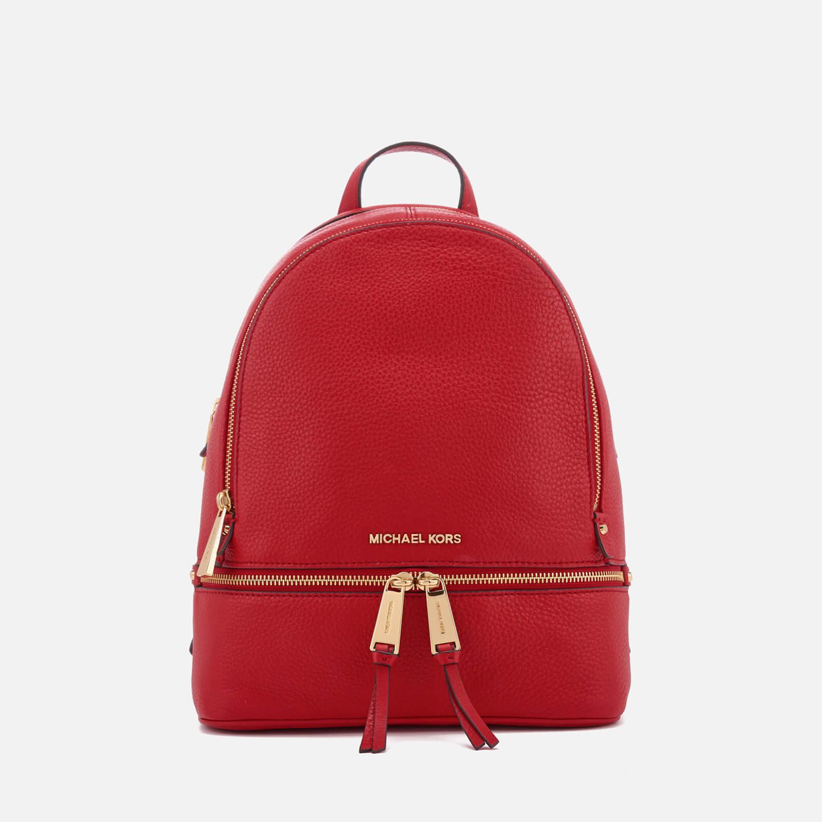 f4119fc7cc66 ... MICHAEL MICHAEL KORS Women's Rhea Zip Medium Backpack - Bright Red