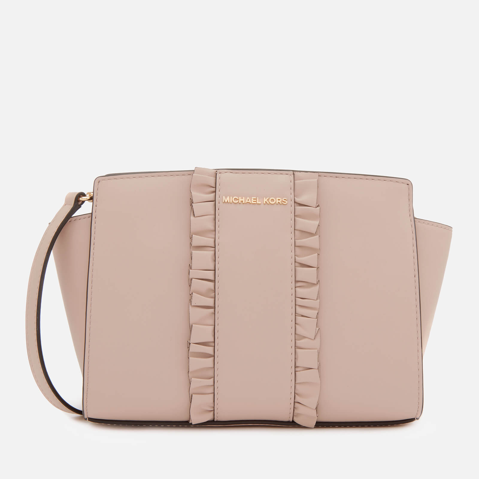 0ec231790b71 MICHAEL MICHAEL KORS Women's Selma Medium Messenger Bag - Soft Pink - Free  UK Delivery over £50