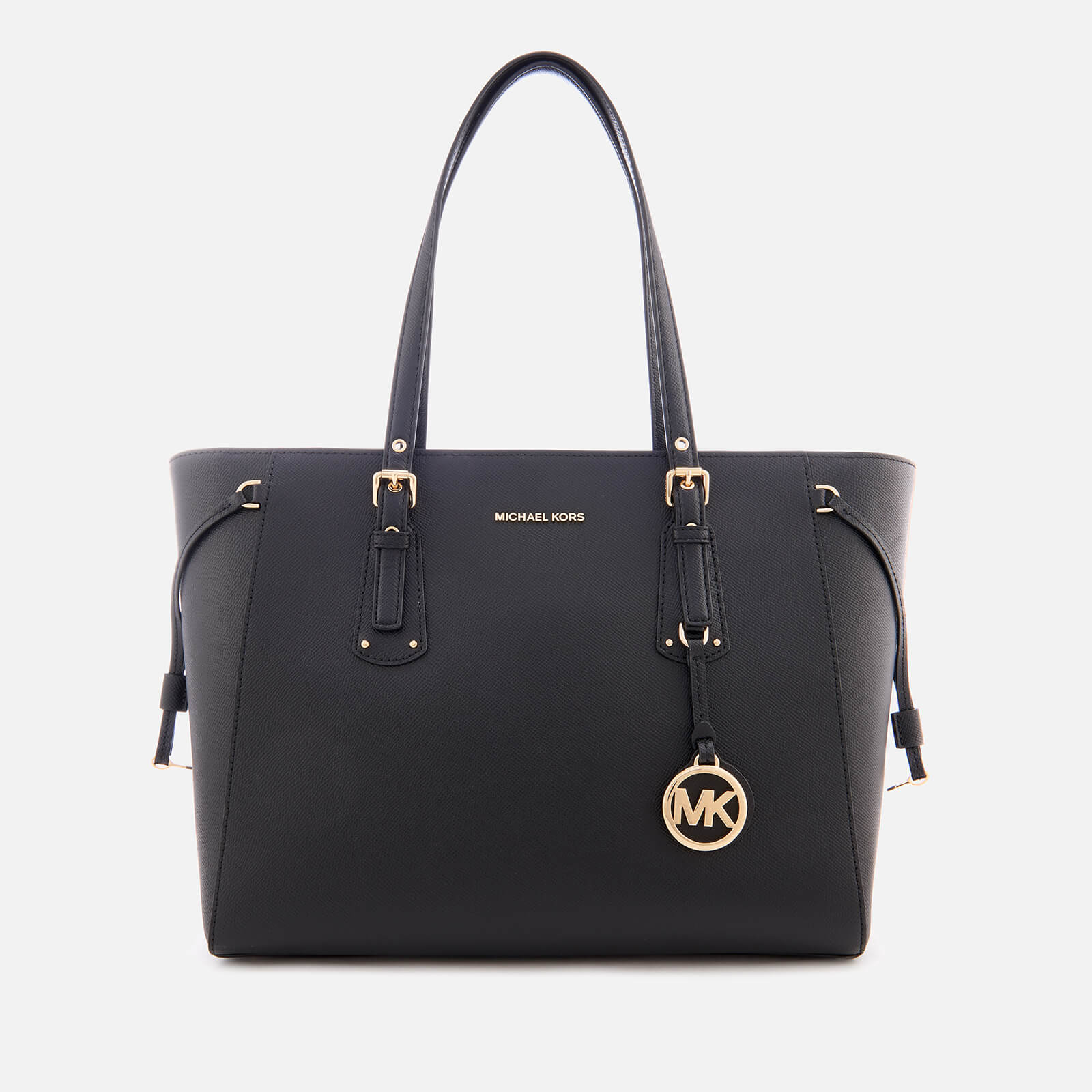 00e2cacd495 MICHAEL MICHAEL KORS Women's Voyager Medium Top Zip Tote Bag - Black