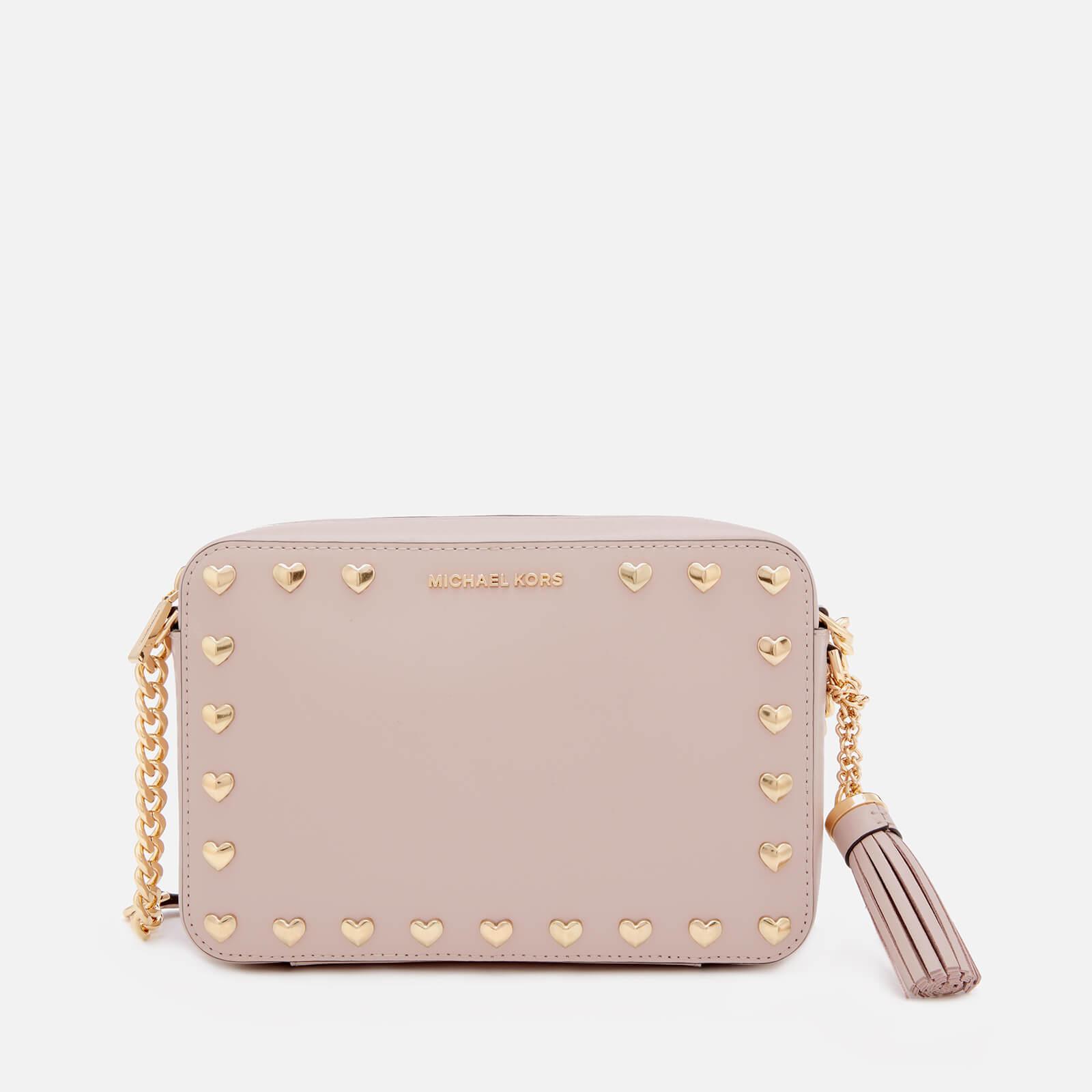 0f6f3b561ea7 MICHAEL MICHAEL KORS Women's Ginny Medium Camera Bag - Soft Pink - Free UK  Delivery over £50