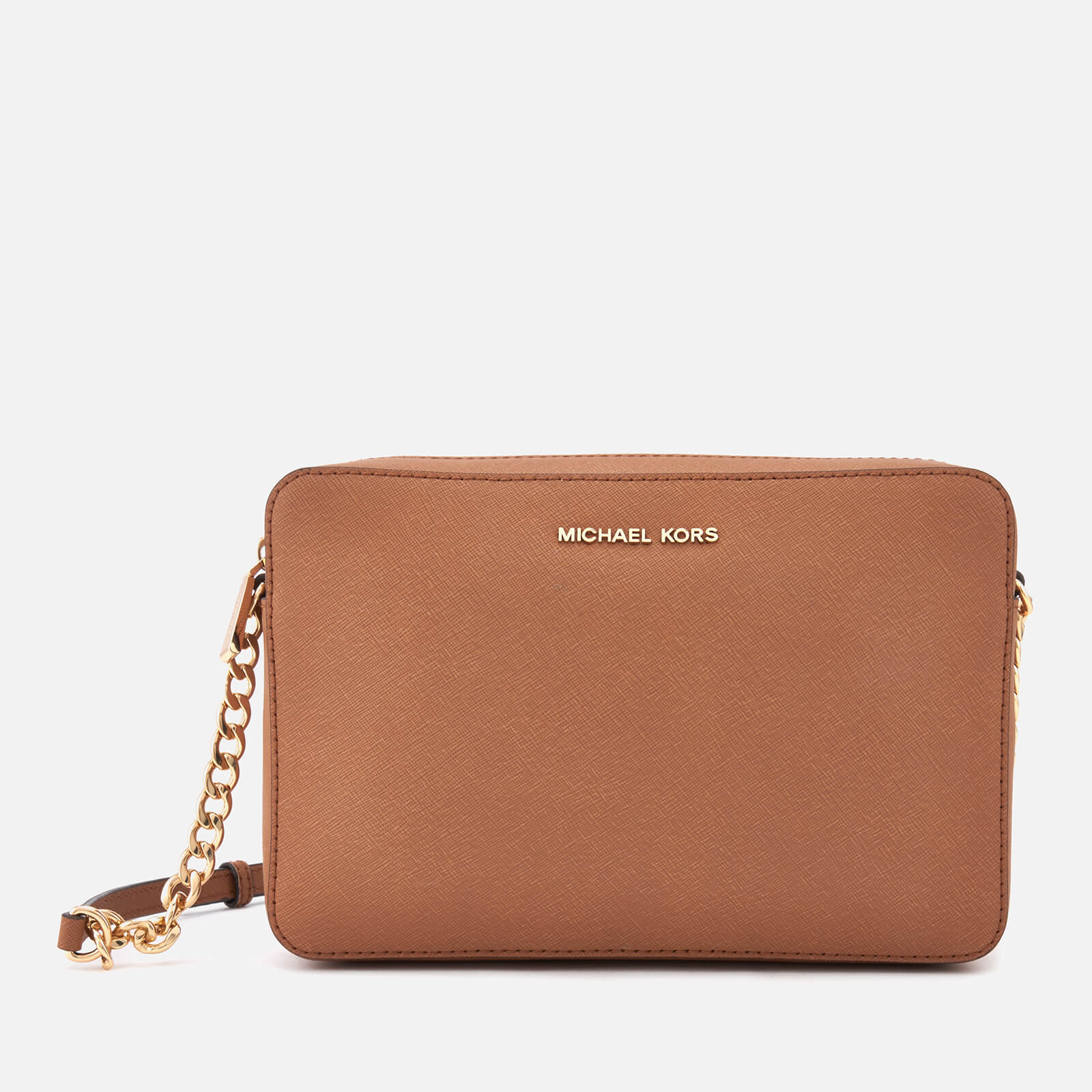 2c0f123ada2f MICHAEL MICHAEL KORS Women's Large East West Cross Body Bag - Acorn - Free  UK Delivery over £50