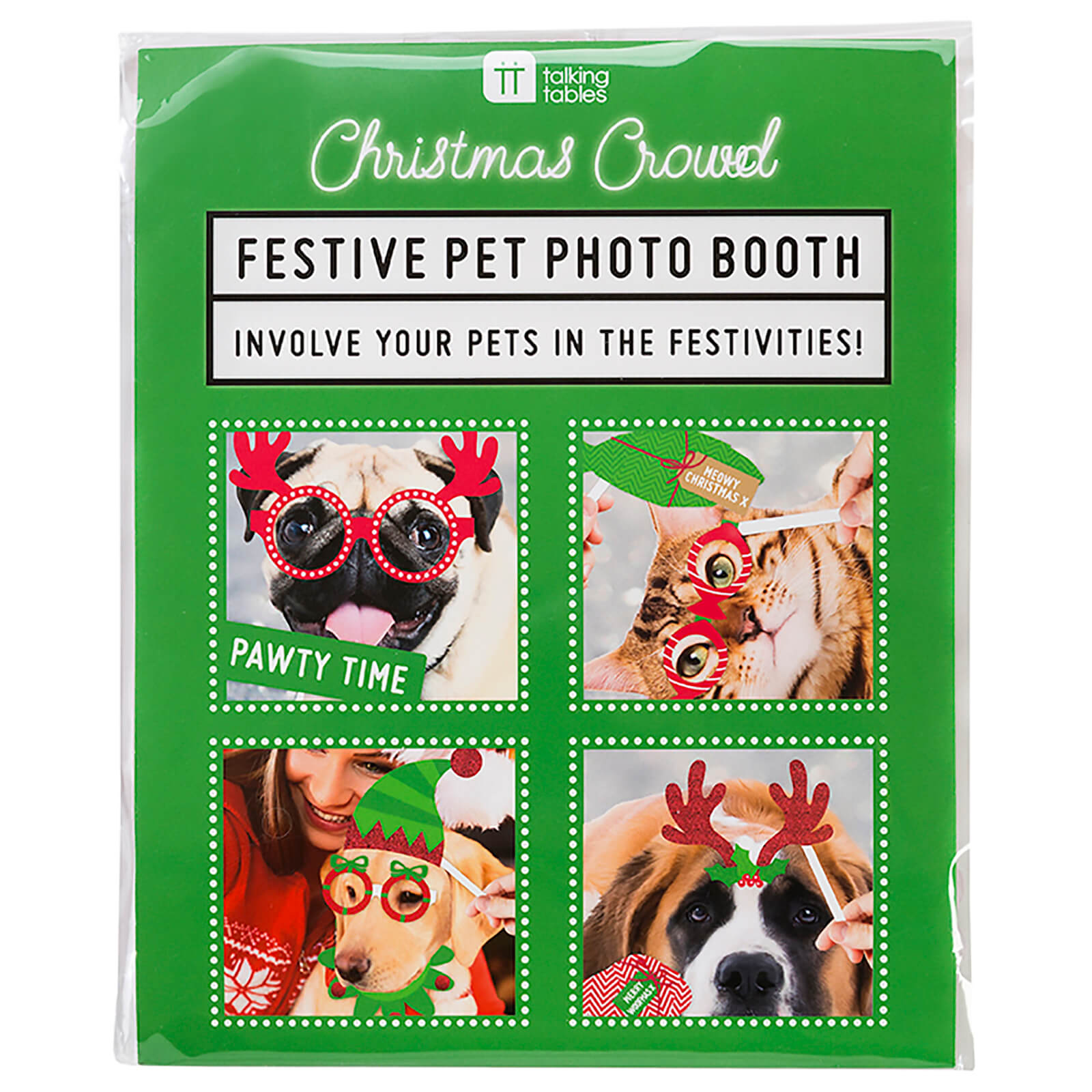 Christmas Festive Pet Photo Booth