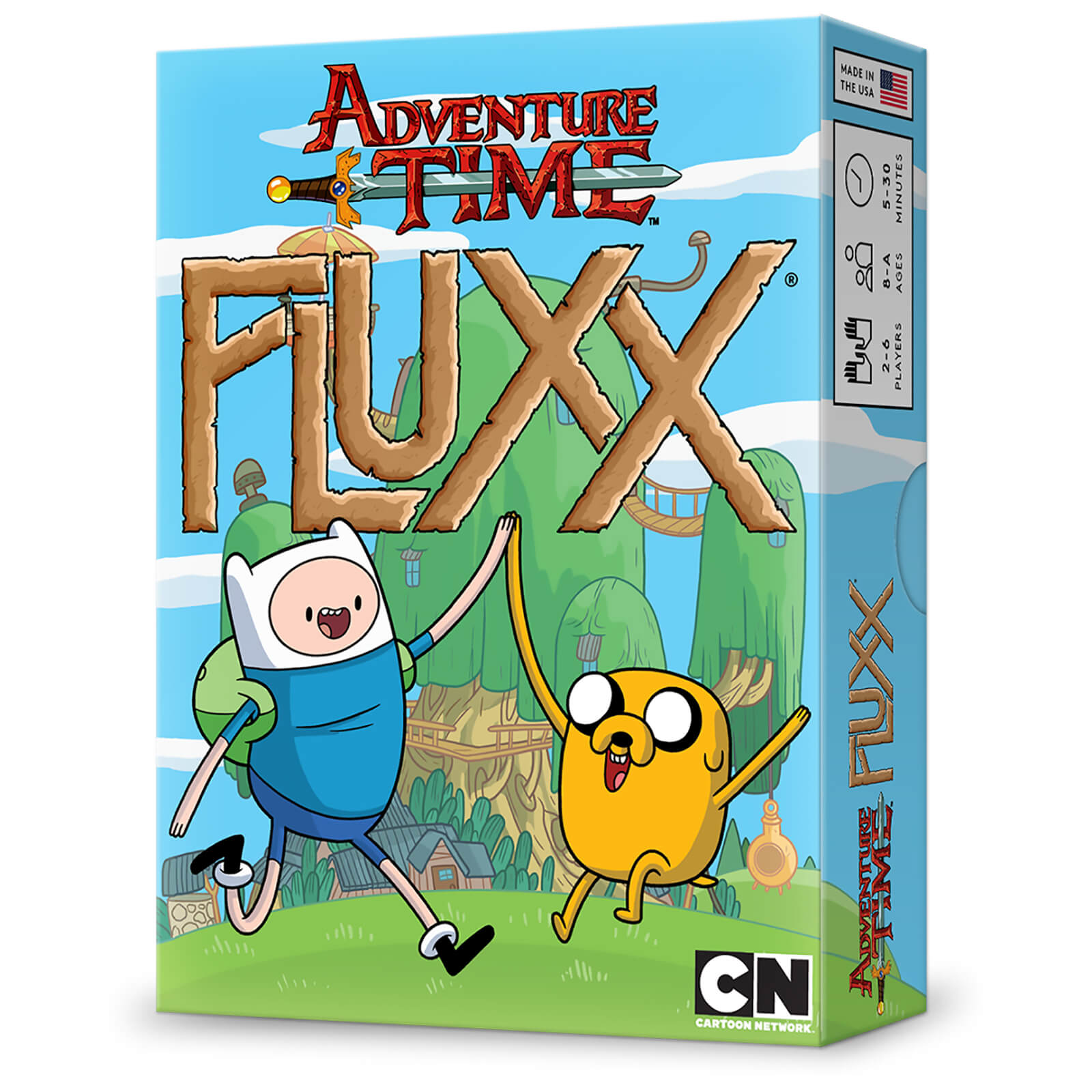 Adventure Time Fluxx Game