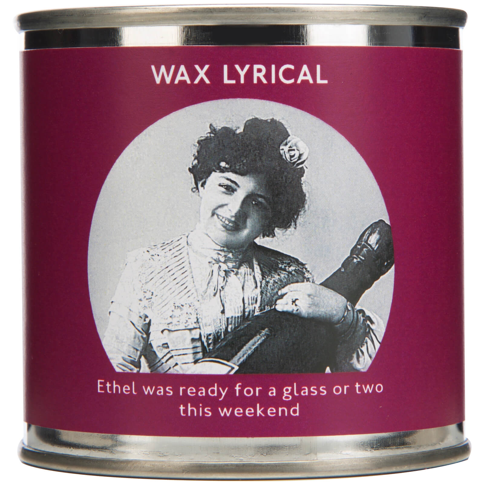 Wax Lyrical Enter-tin-ment Ready for the Weekend Wax Filled Candle