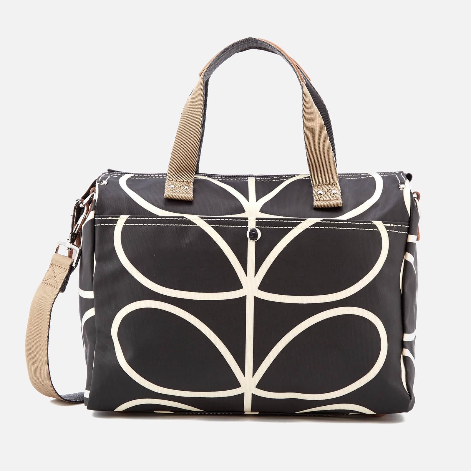 bb313f512cb59 Orla Kiely Women's Giant Linear Stem Messenger Bag - Liquorice Womens  Accessories | TheHut.com