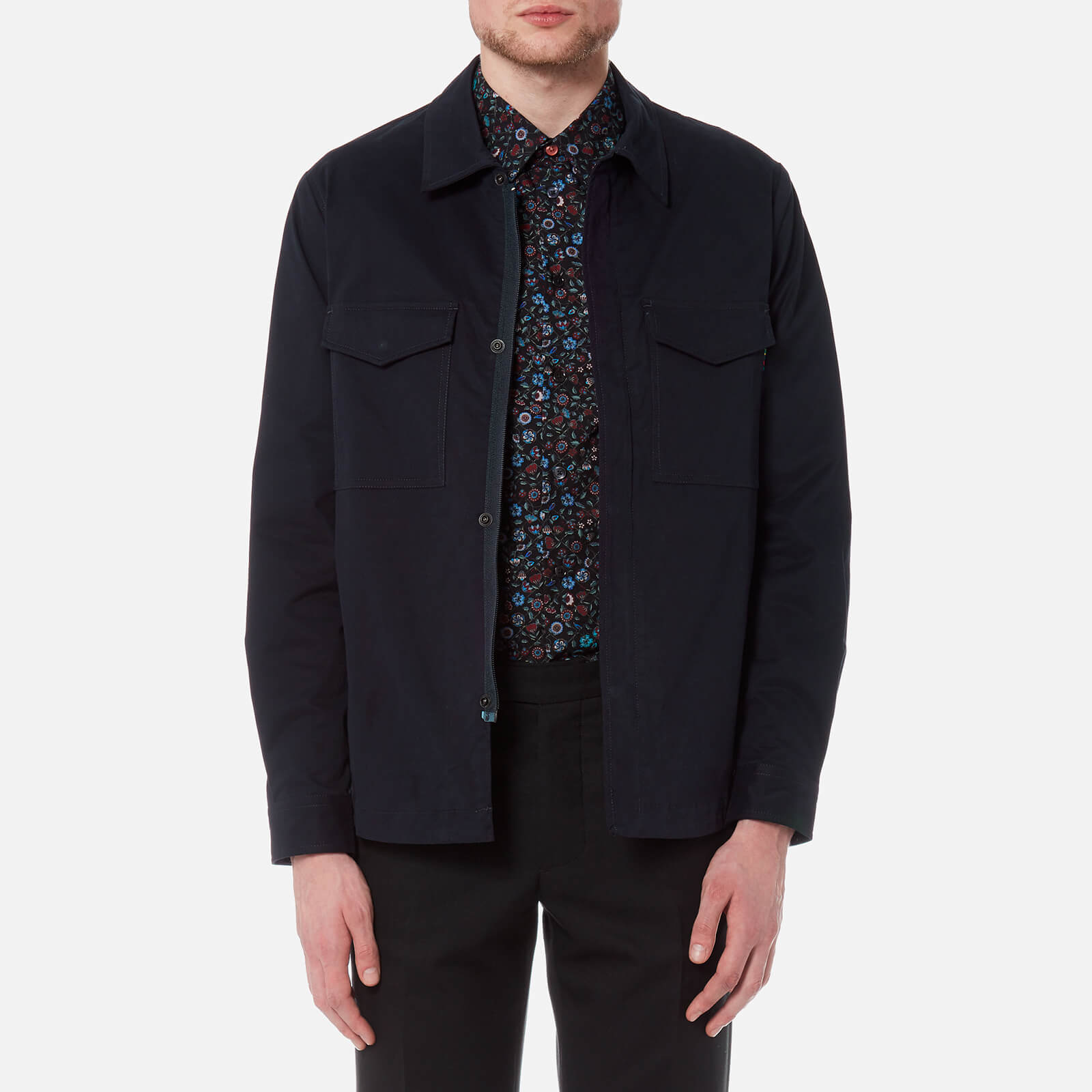 7dbb1cac6ed20 PS Paul Smith Men's Unlined Jacket - Navy - Free UK Delivery over £50
