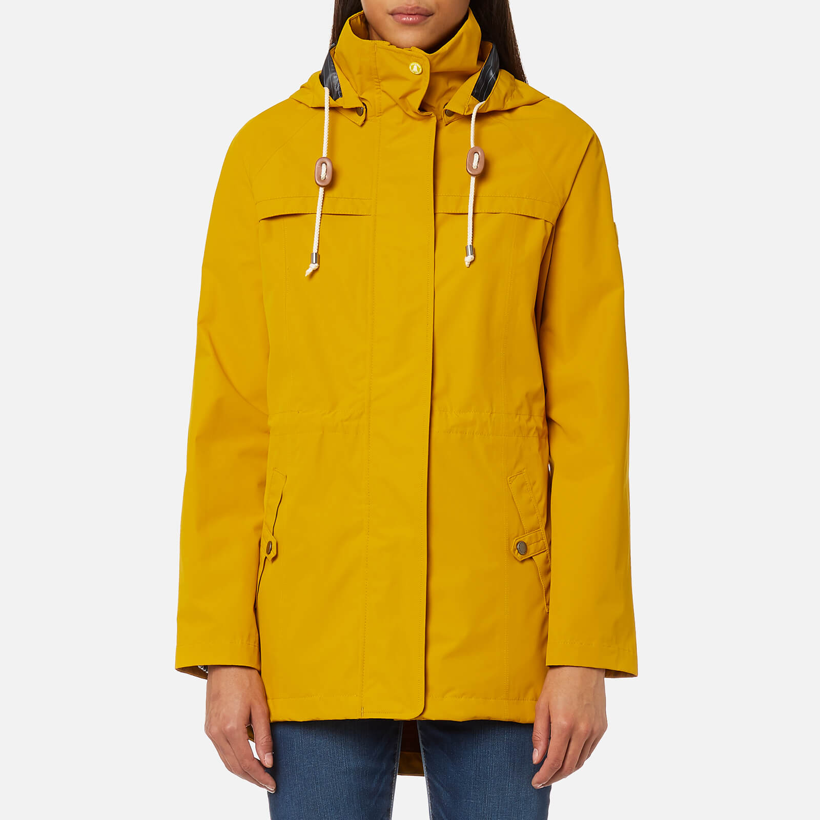 8244851056ae4 Barbour Women's Hanover Jacket - Canary Yellow - Free UK Delivery over £50