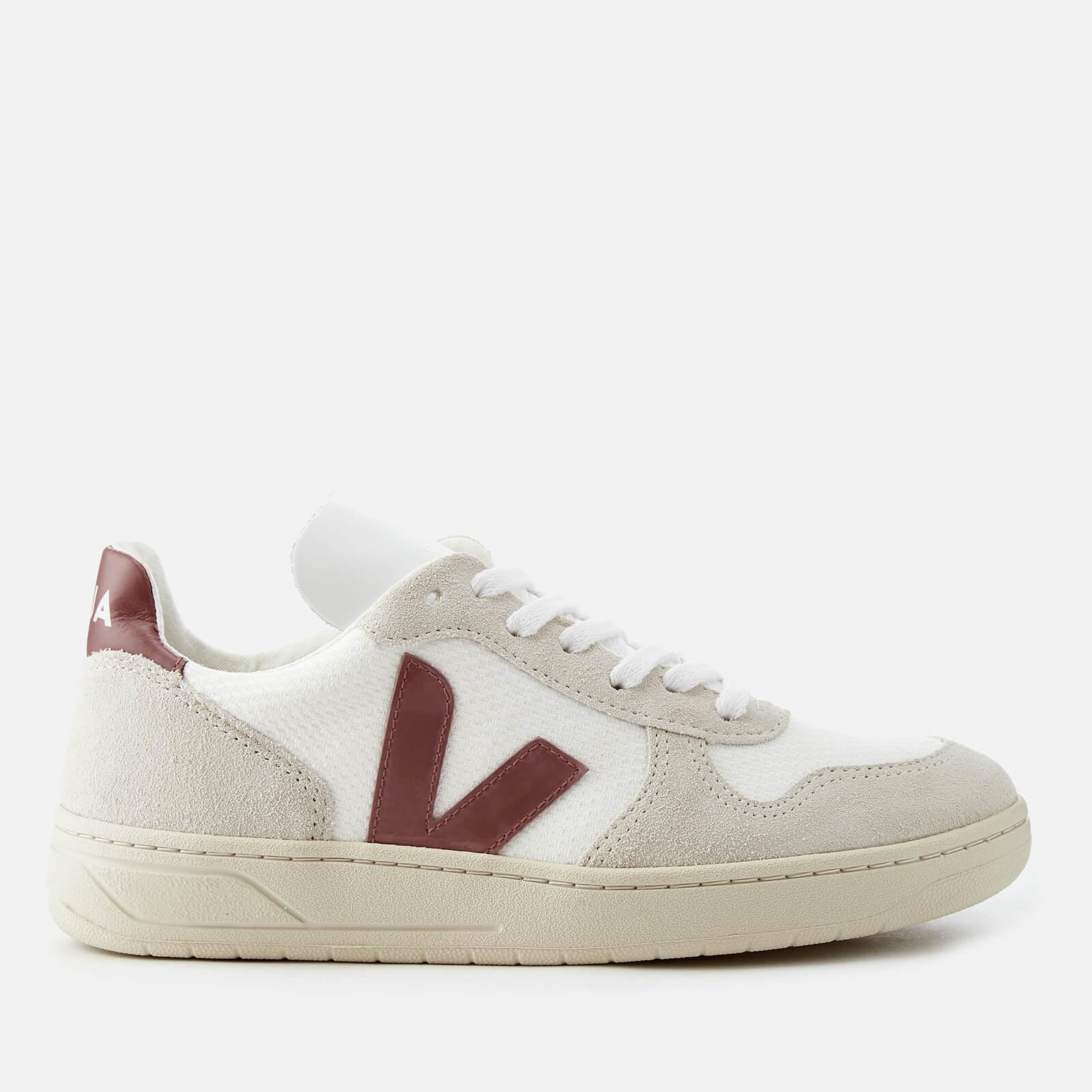 V10 B-Mesh Trainers - White/Dried Petal