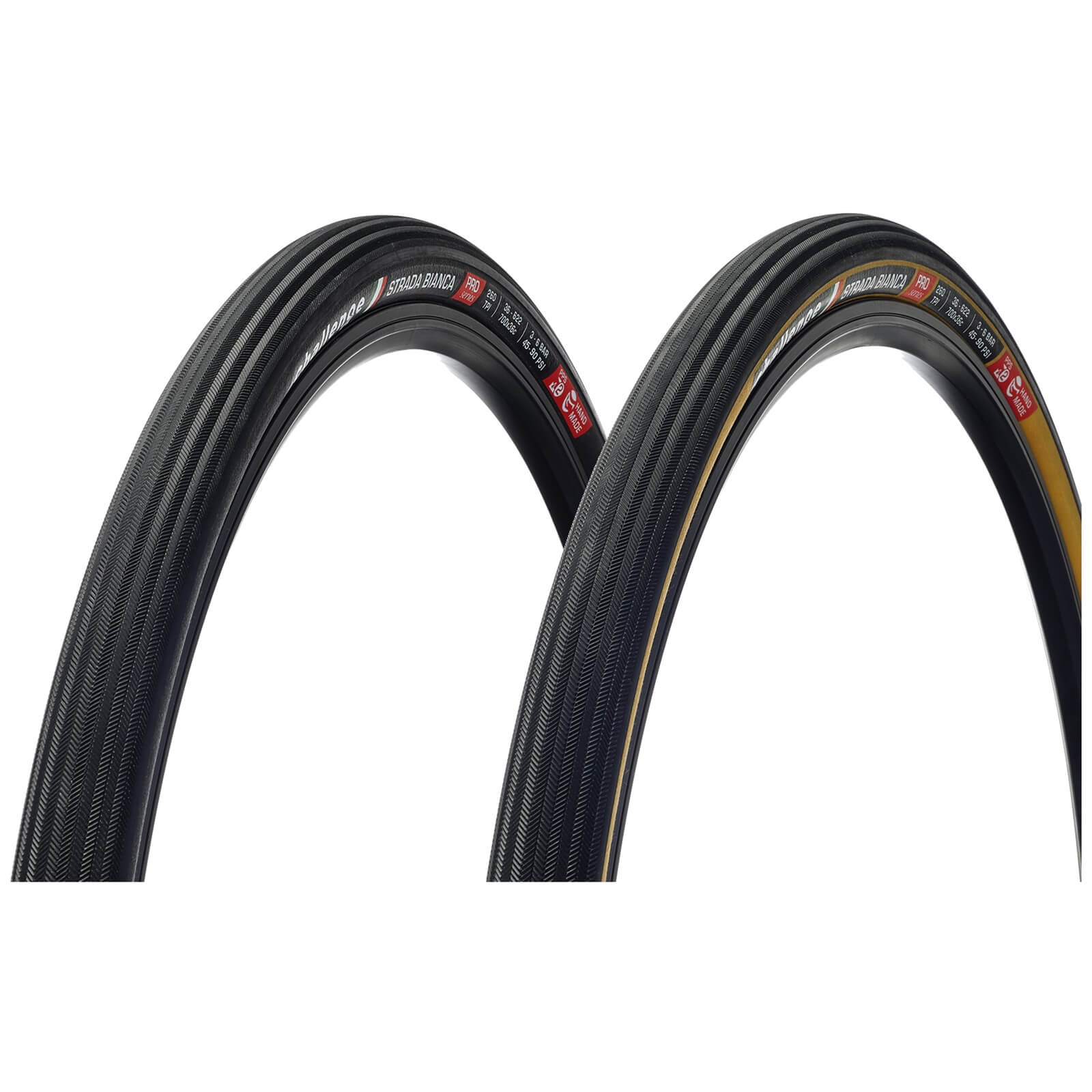 Challenge Strada Bianca 260 TPI Clincher Road Tyre