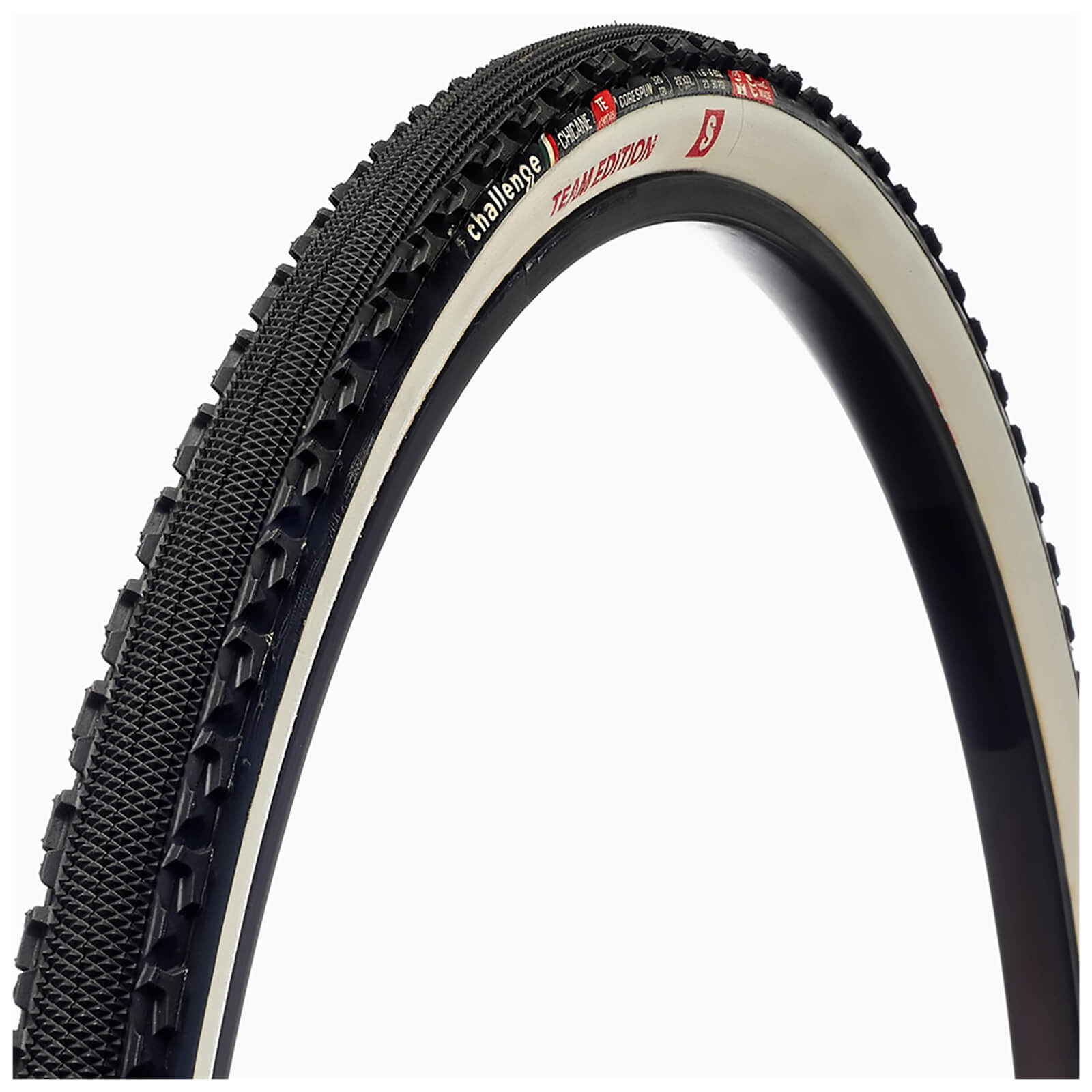 Challenge Chicane TE S 320 TPI Tubular Cyclocross Tyres - 700c x 33mm | Dæk