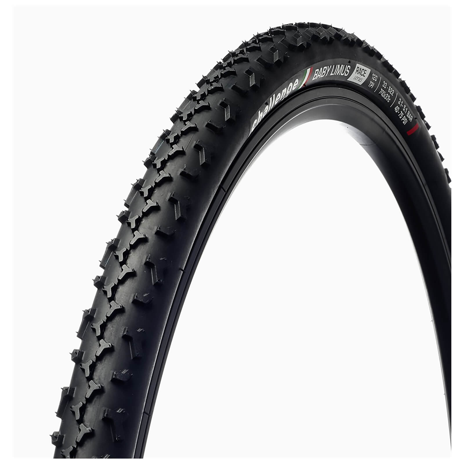 Challenge Baby Limus Race 120 Tpi Clincher Cyclocross Tyre