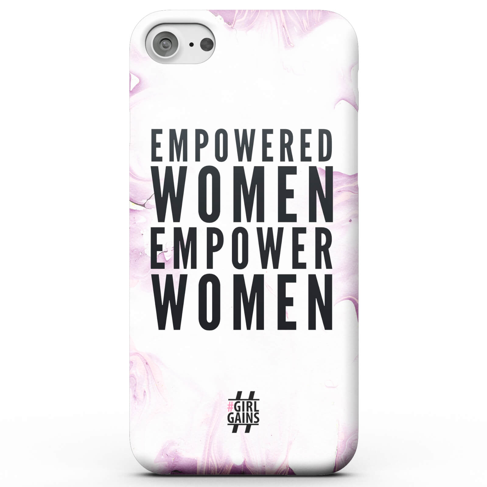 Girl Gains Empowered Women Empower Women Phone Case