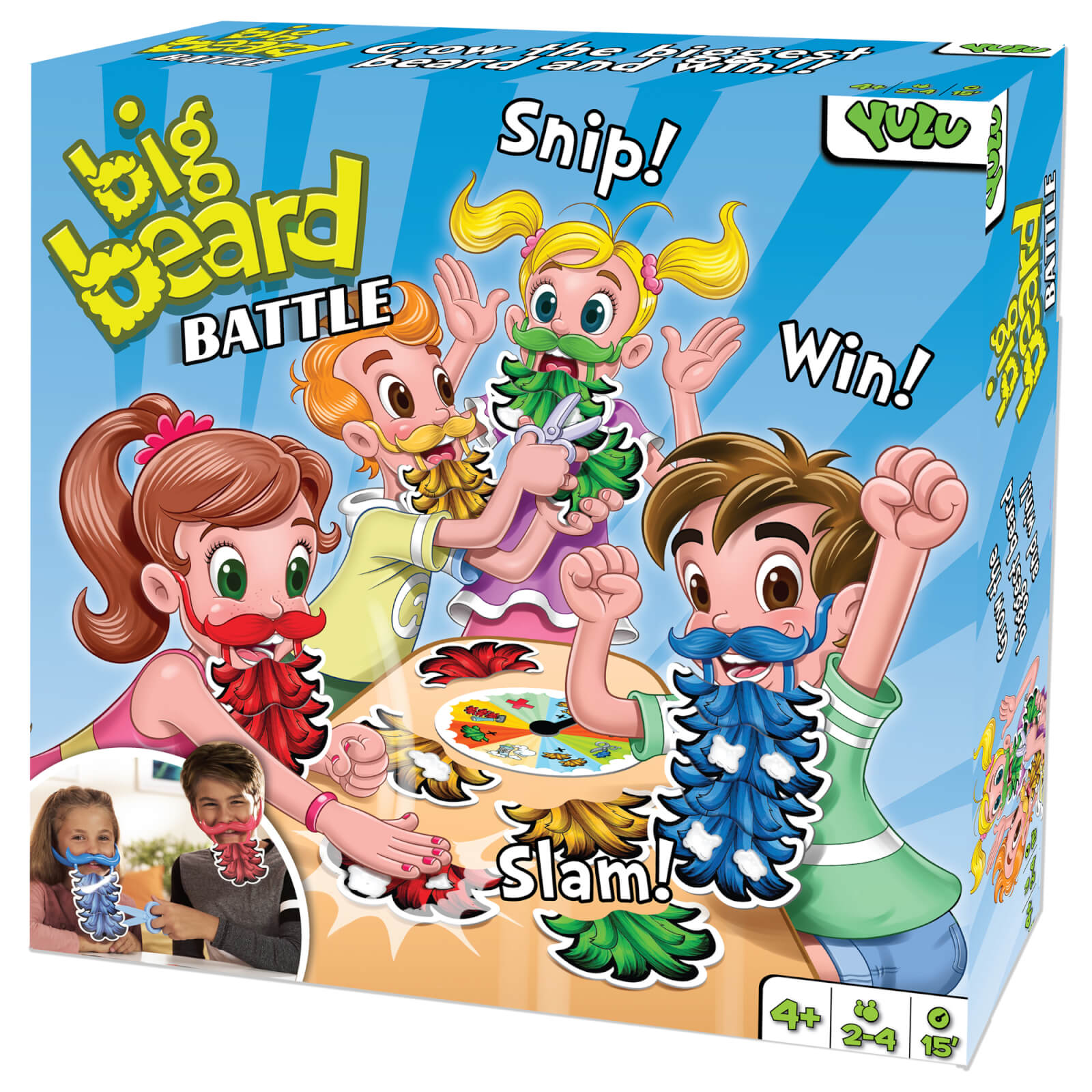 Yulu Big Beard Battle Game