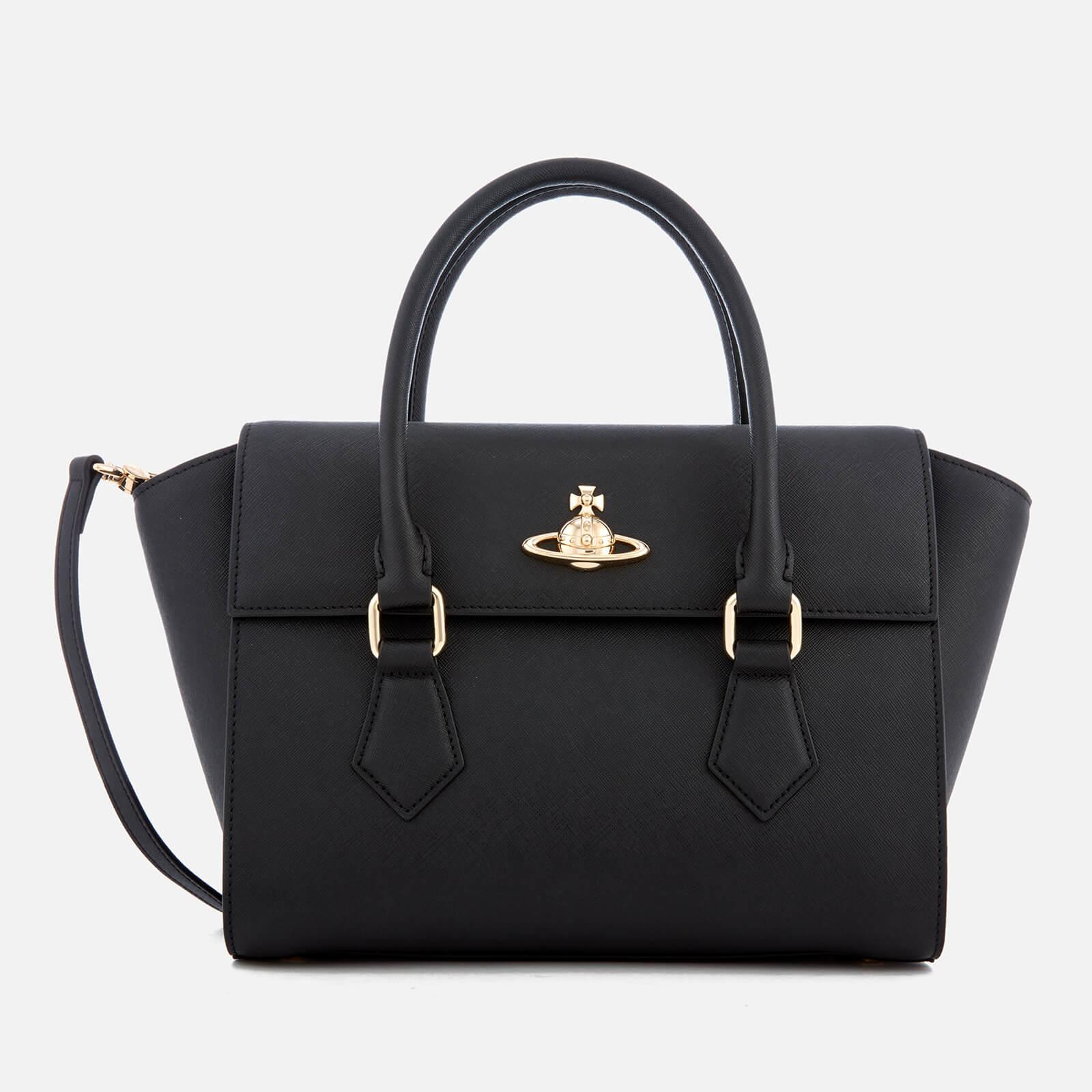 db52621bde2a Vivienne Westwood Women's Pimlico Medium Handbag - Black - Free UK Delivery  over £50