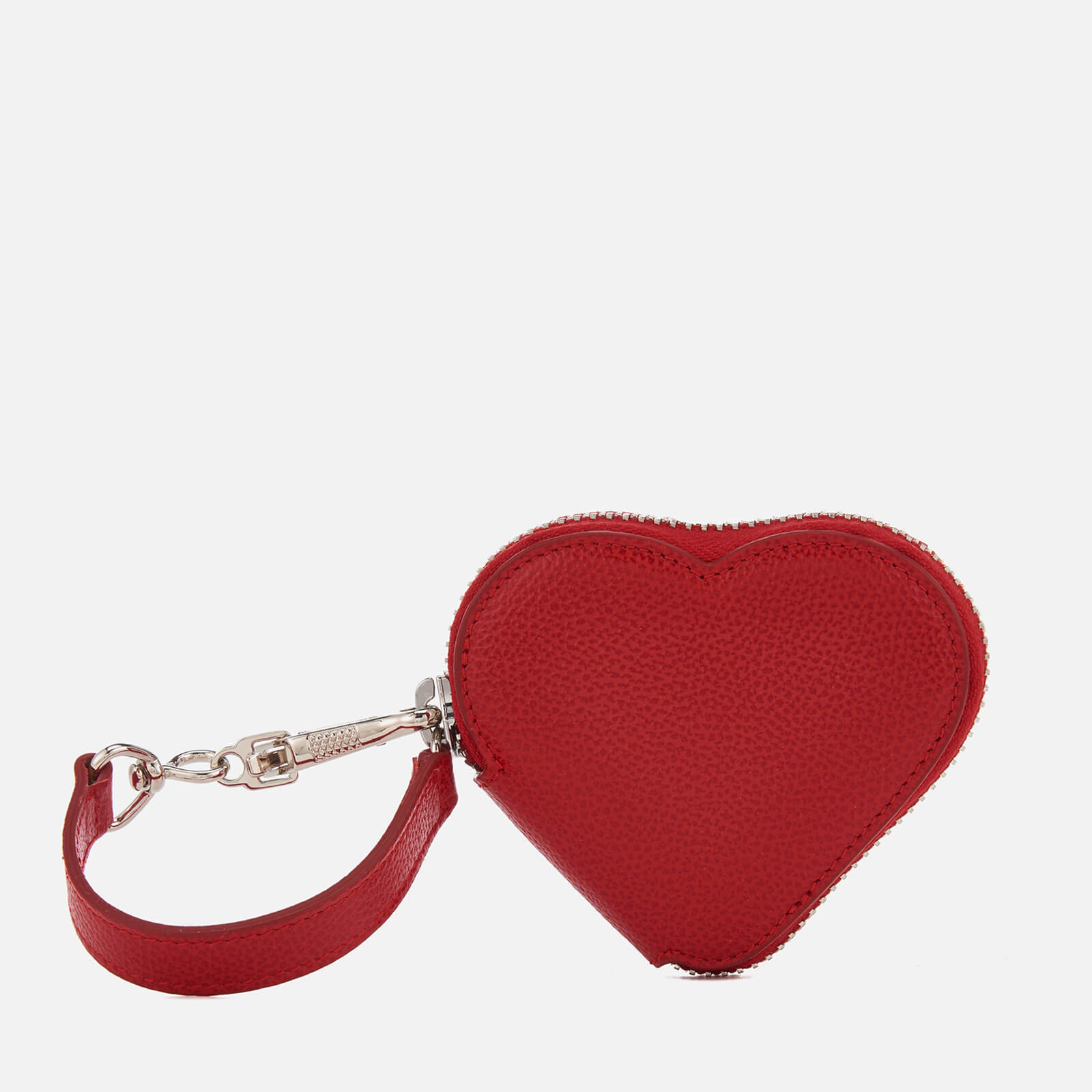 89f0ba054d Vivienne Westwood Women's Johanna Heart Coin Case - Red - Free UK Delivery  over £50