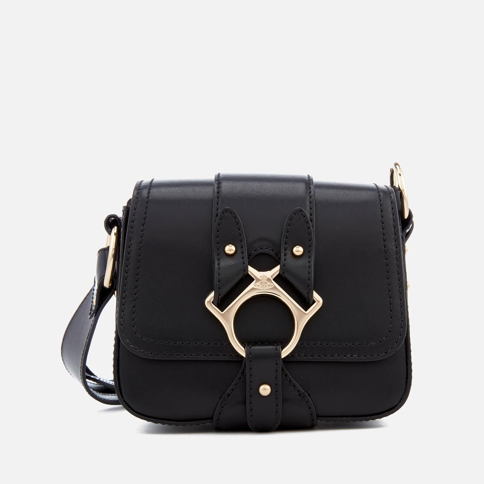 9ae8a712b8 ... Vivienne Westwood Women s Folly Small Saddle Bag - Black