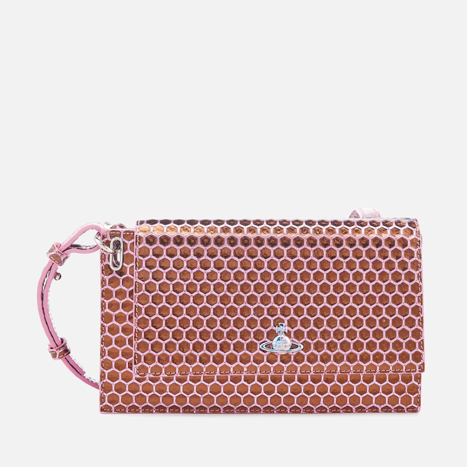 640dc2c3b1 Vivienne Westwood Women's Venice Clutch Bag - Pink - Free UK Delivery over  £50