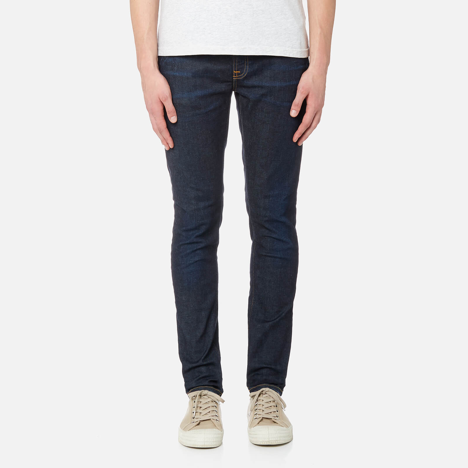 fa5d11d8a0dca Nudie Jeans Men s Skinny Lin Skinny Jeans - Nearly Dry - Free UK ...