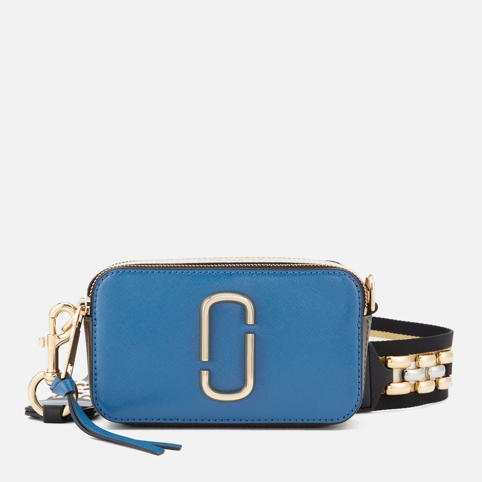 dc8836082f Marc Jacobs Women's Snapshot Cross Body Bag - Vintage Blue/Multi - Free UK  Delivery over £50