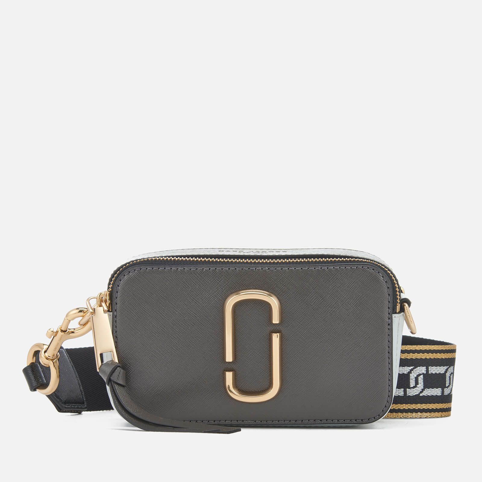 8f35ae9388 Marc Jacobs Women's Snapshot Cross Body Bag - Graphite/Multi - Free UK  Delivery over £50