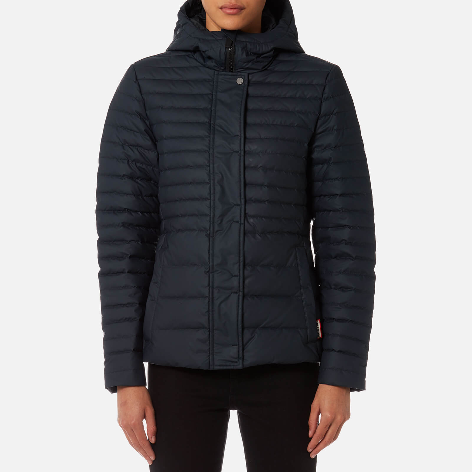 99bbf89f4098c Hunter Women's Original Refined Down Jacket - Navy - Free UK Delivery over  £50