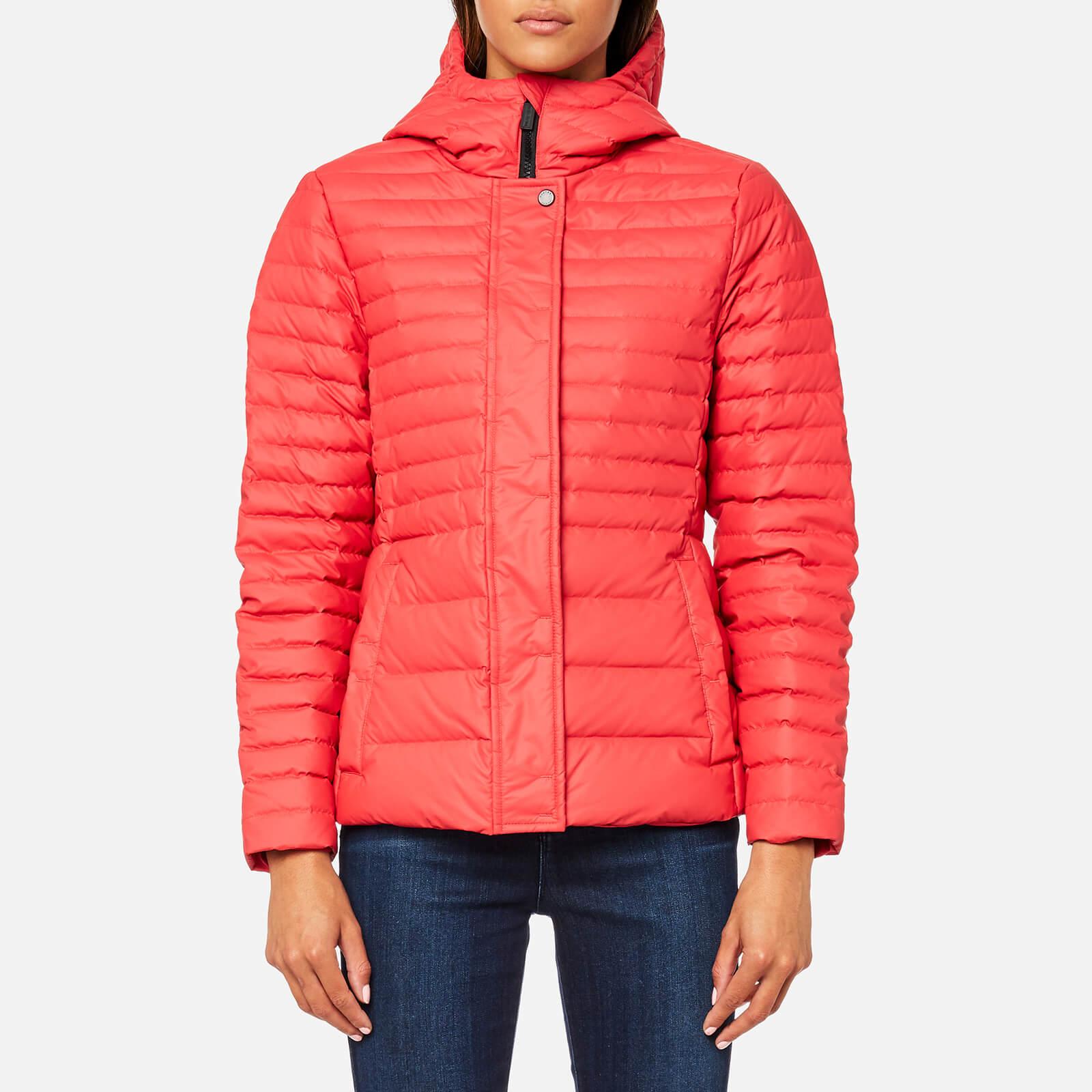 e4e7d662b0566 Hunter Women's Original Refined Down Jacket - Bright Coral - Free UK  Delivery over £50