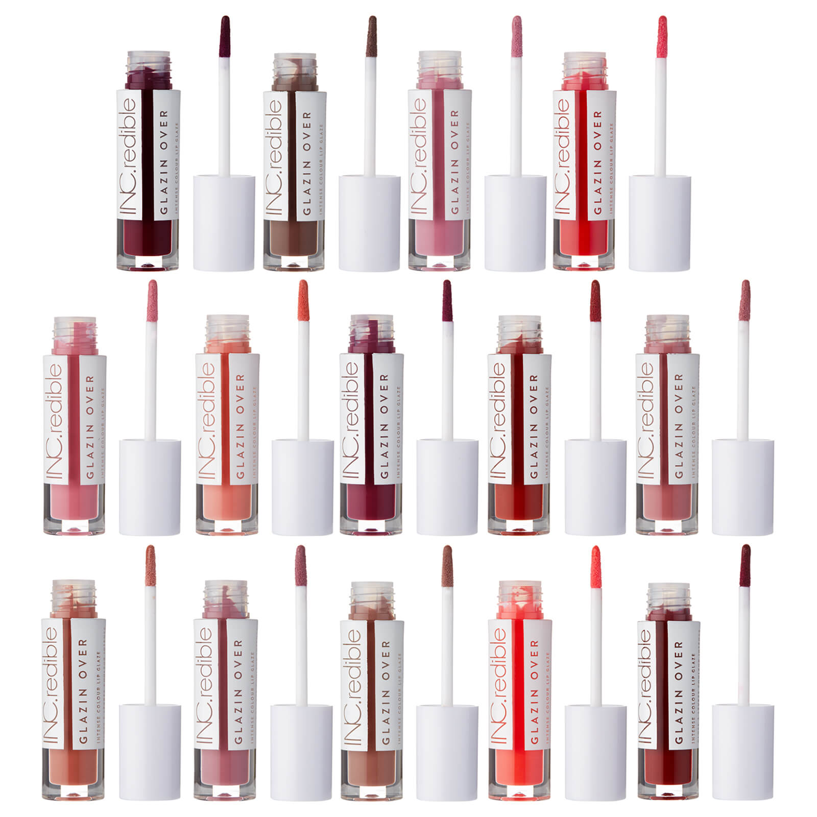 Inc Redible Glazin Over Lip Glaze Various Shades Free Us Shipping Lookfantastic