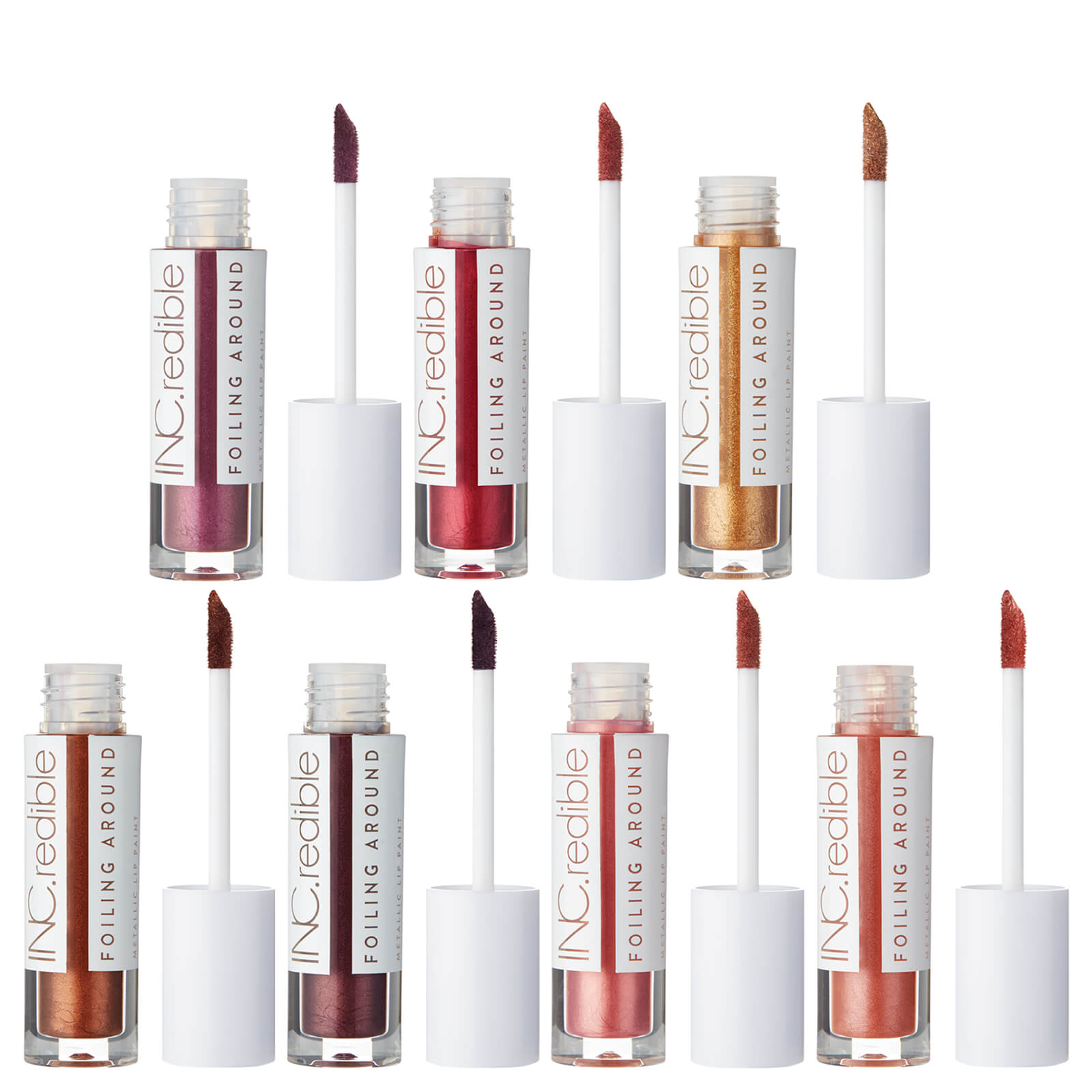 Inc Redible Foiling Around Metallic Liquid Lipstick Various Shades Buy Online Mankind