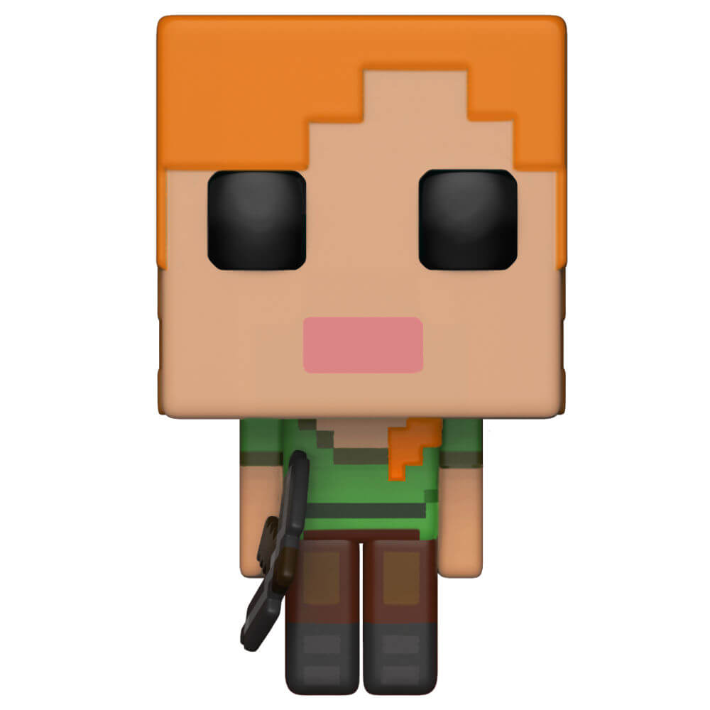 Figurine Pop! Alex - Minecraft