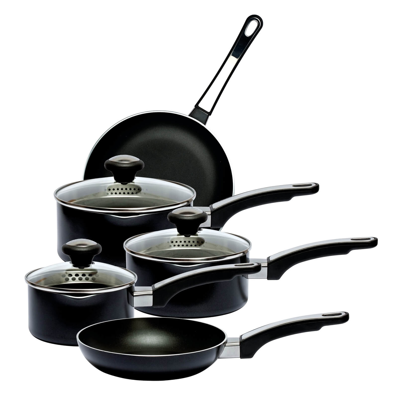 Prestige Everyday Aluminium 5 Piece Straining Set