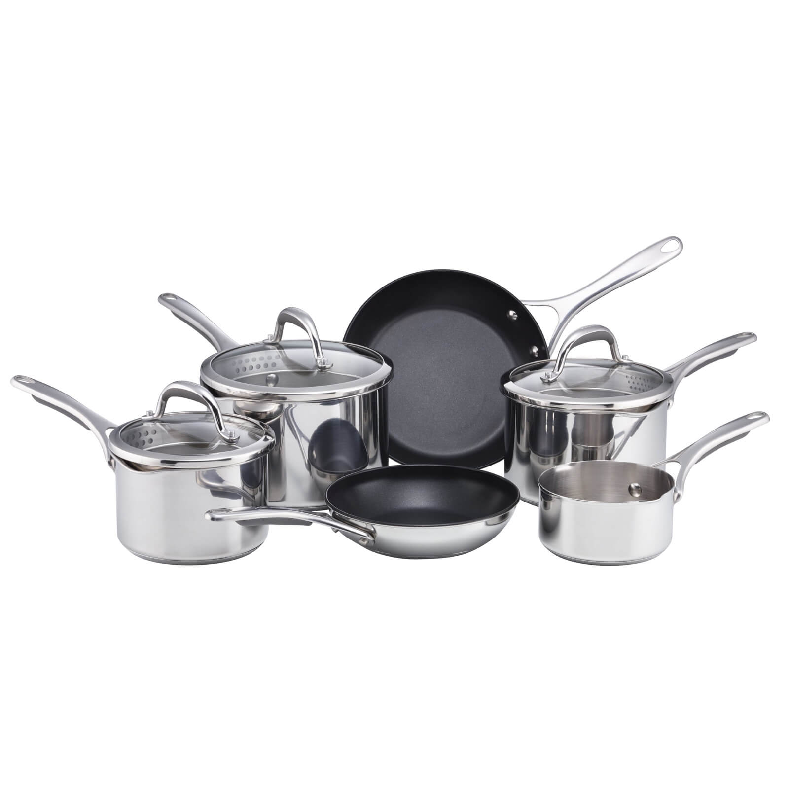 Meyer Select Stainless Steel 6 Piece Cookware Set