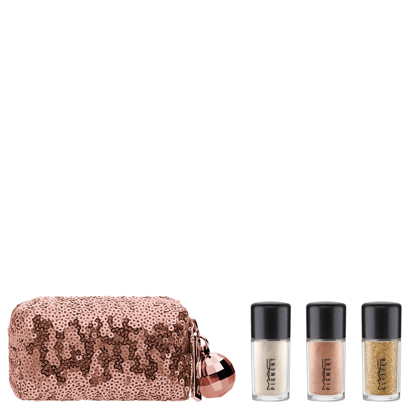 MAC Snow Ball Pigment & Glitter Kit Gold