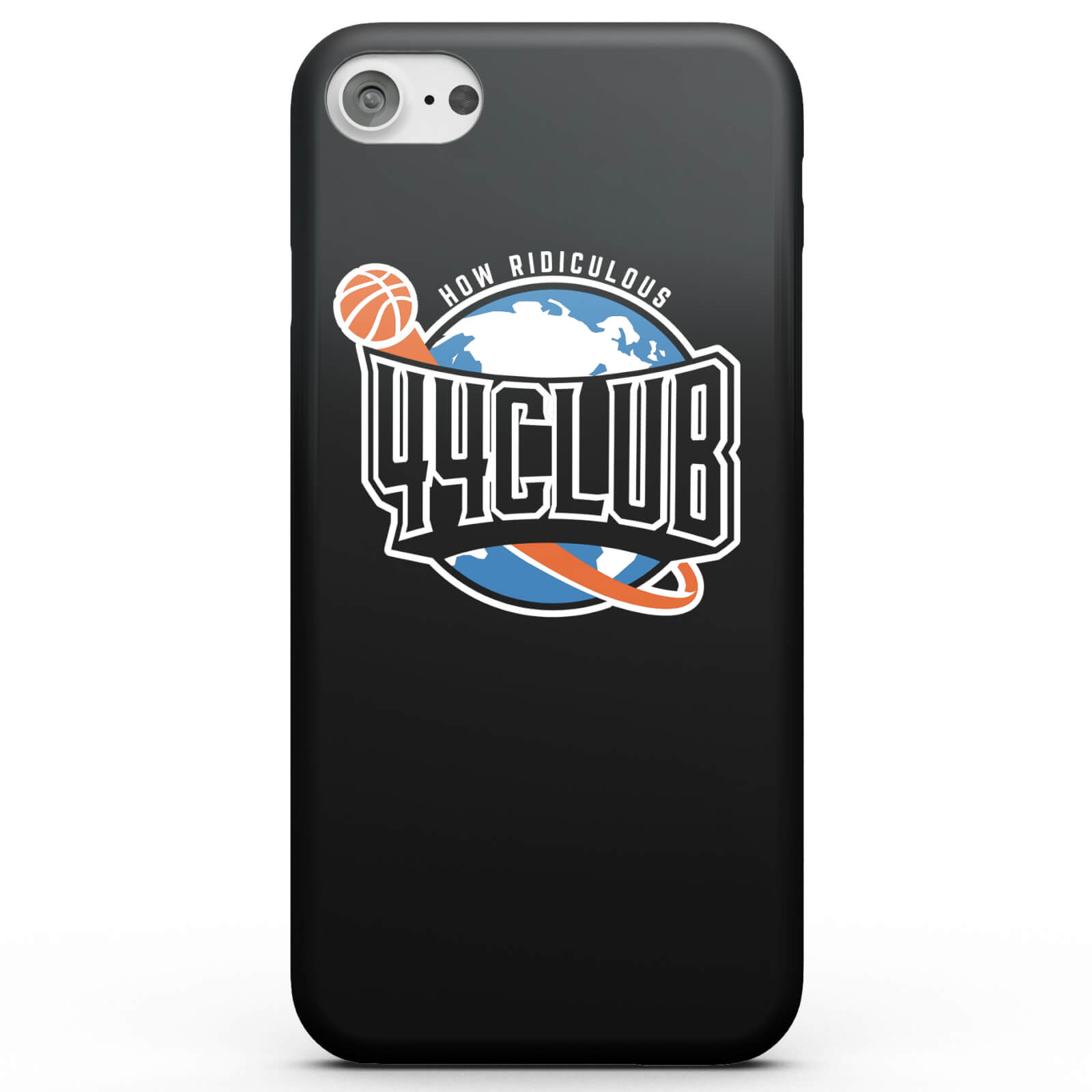 How Ridiculous 44 Club Basketball Phone Case - Black