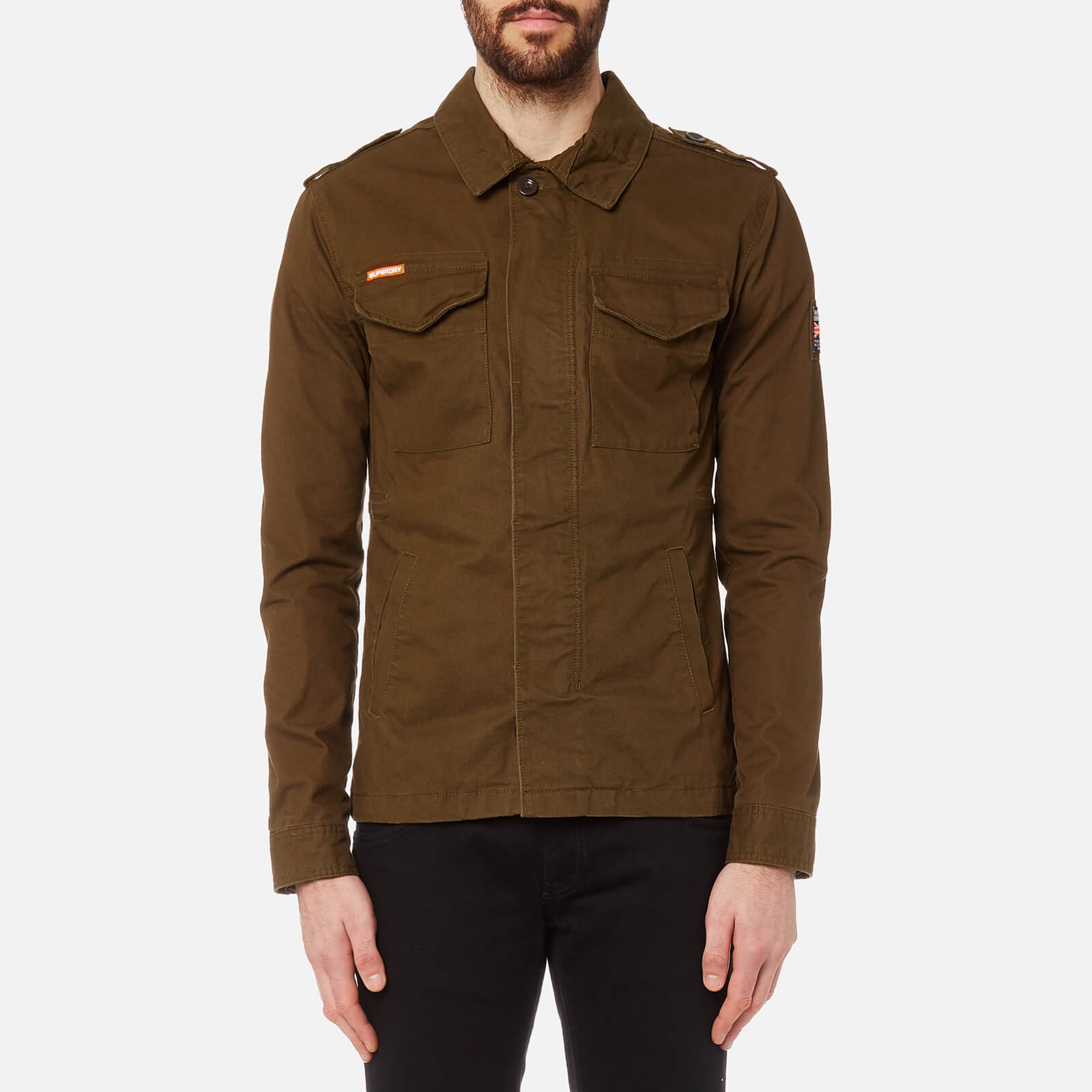 Mens Dock Jacket in Khakinavy | Superdry
