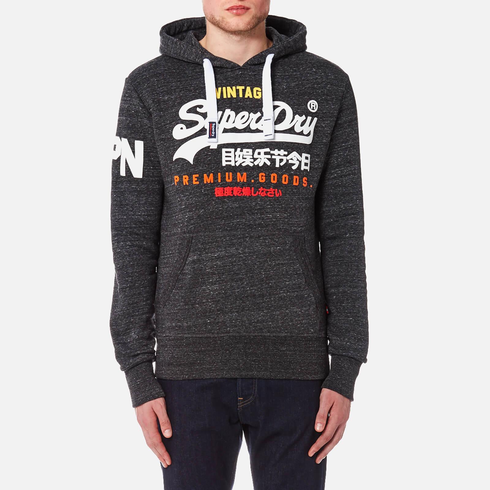 timeless design f252f f4ca6 Superdry Men's Premium Goods Tri Hoody - Asphalt Snowy