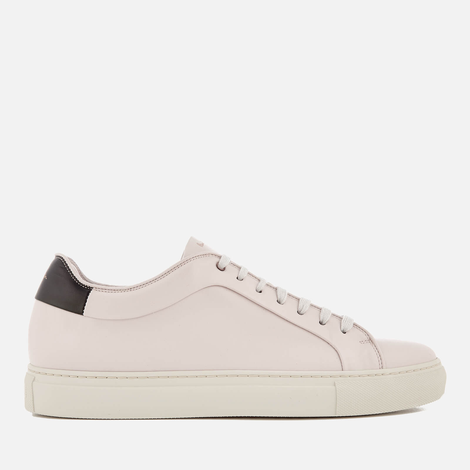 063c32a806 Paul Smith Men's Basso Leather Cupsole Trainers - Quiet White