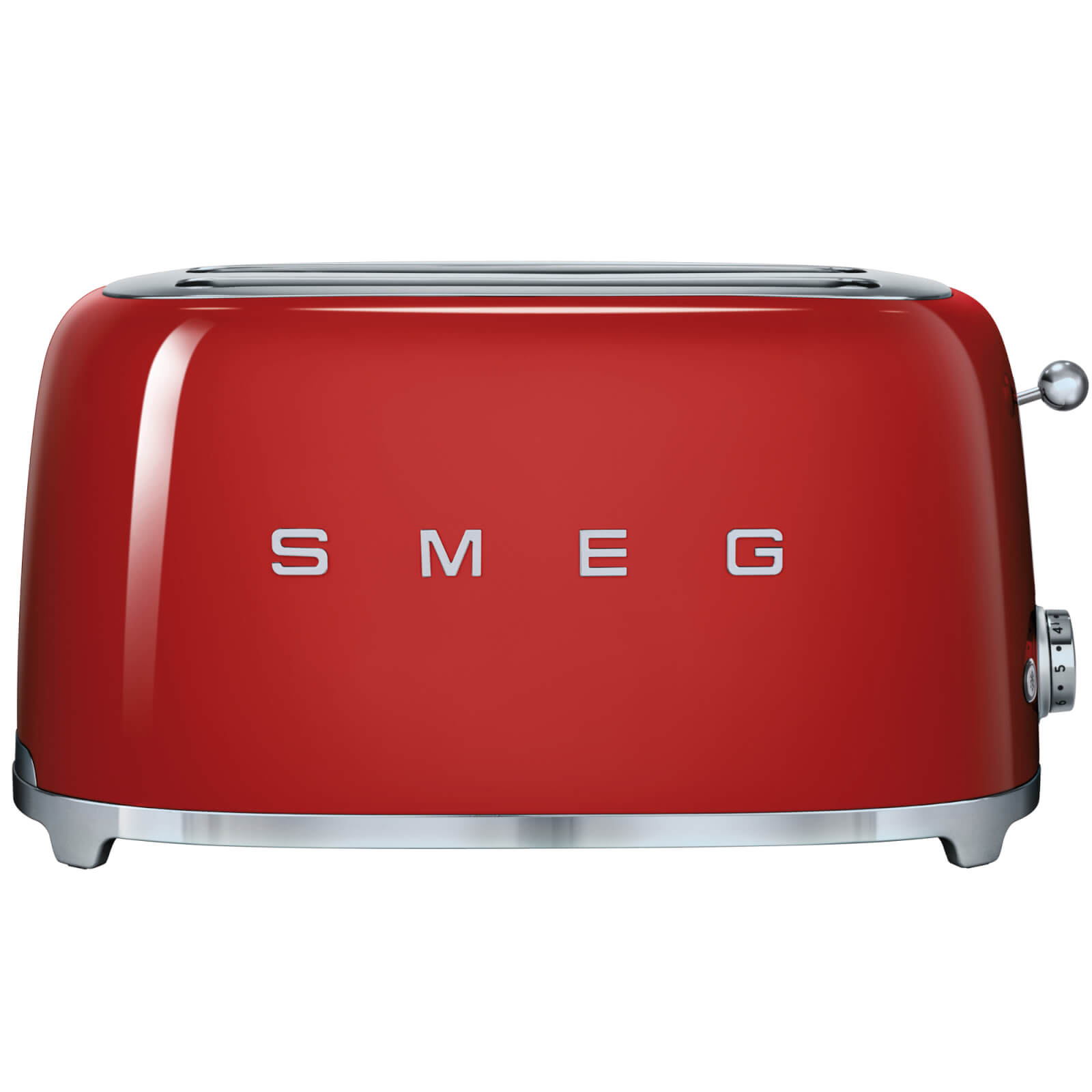 Smeg TSF02RDUK 4 Slice Toaster - Red