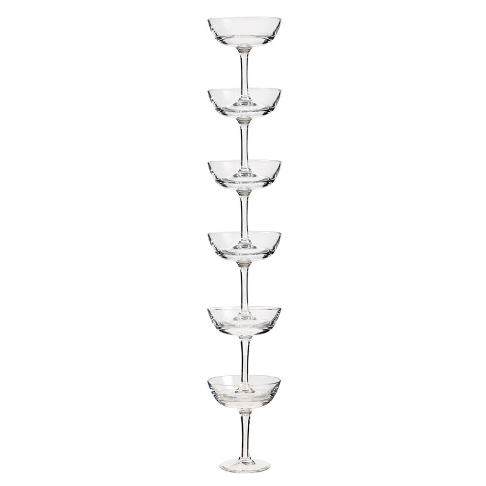 Coupe Stack Champagne Tower