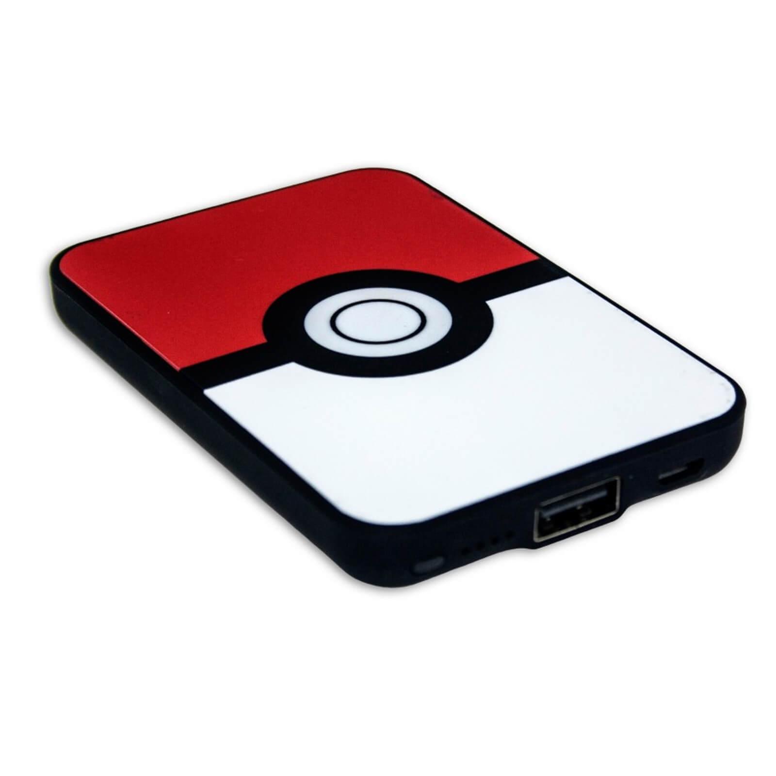 Pokemon Pokeball Credit Card Sized Power Bank 5000mah Iwoot