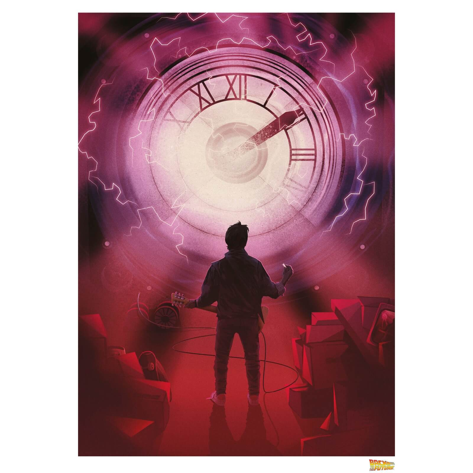 Back to the Future Time - Limited Edition Art Print
