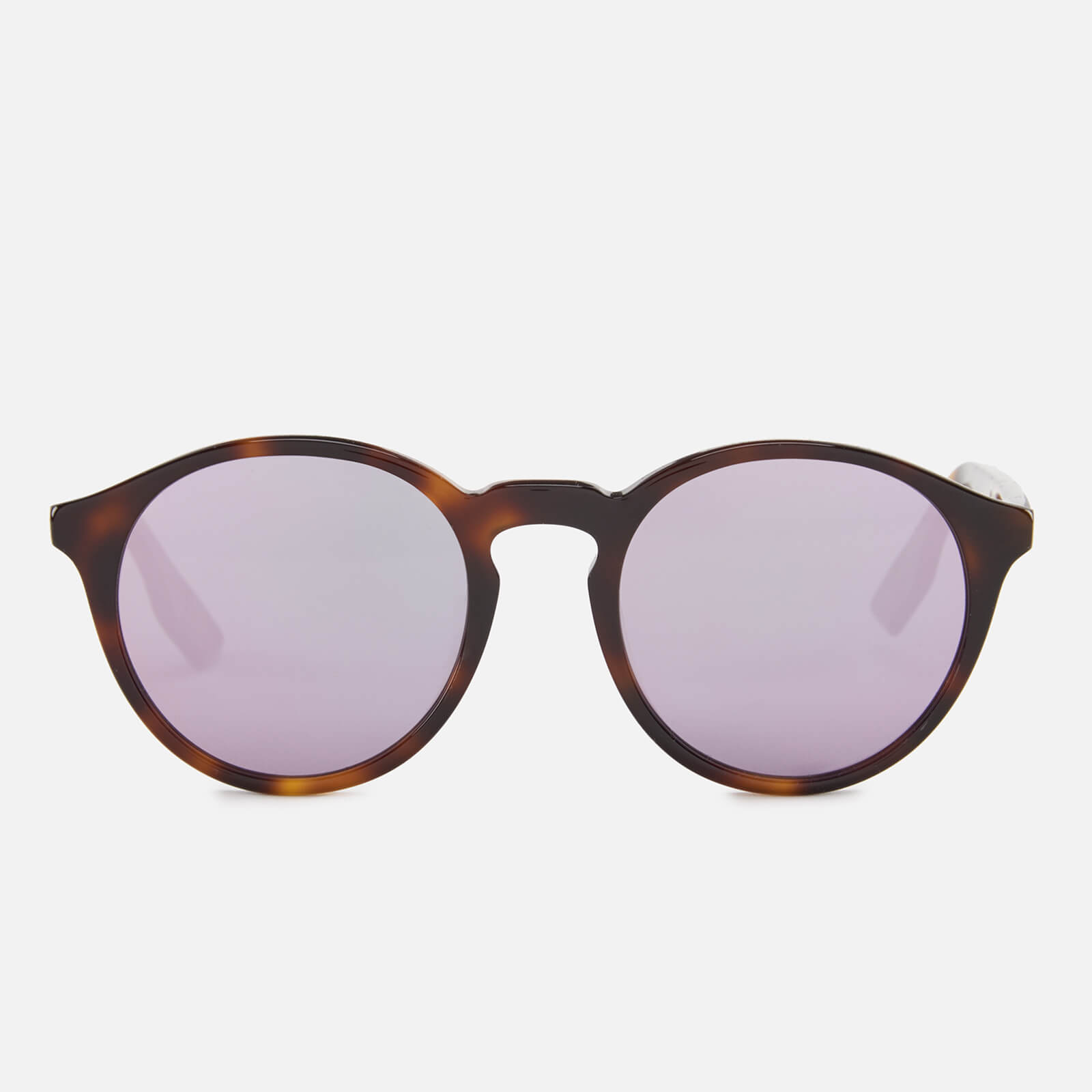 e6947080210b1 McQ Alexander McQueen Round Lens Sunglasses - Havana Pink - Free UK ...