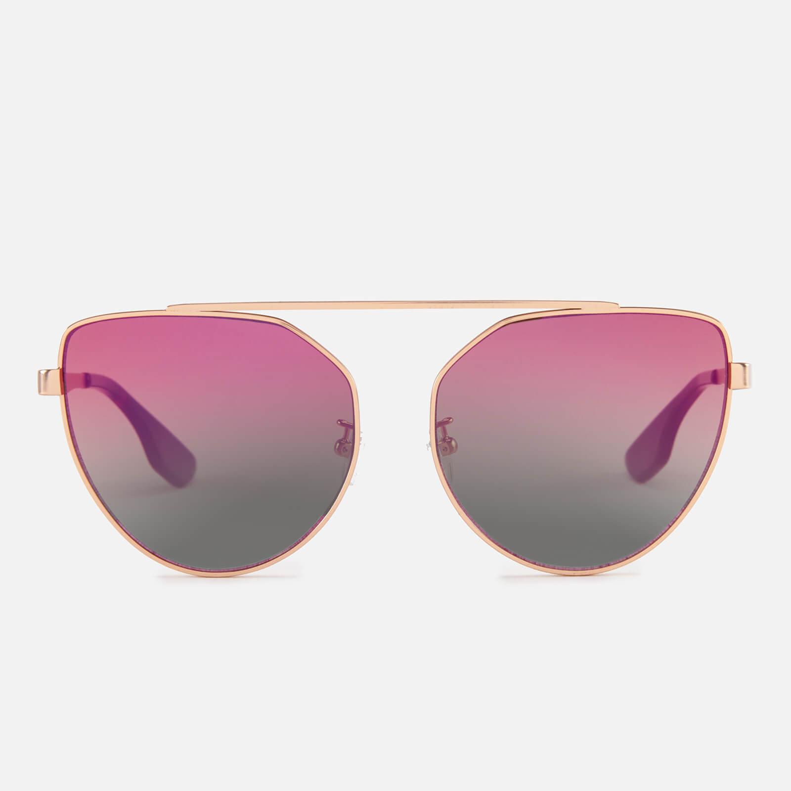 fa70818b4f McQ Alexander McQueen Women s Metal Frame Sunglasses - Gold Pink ...