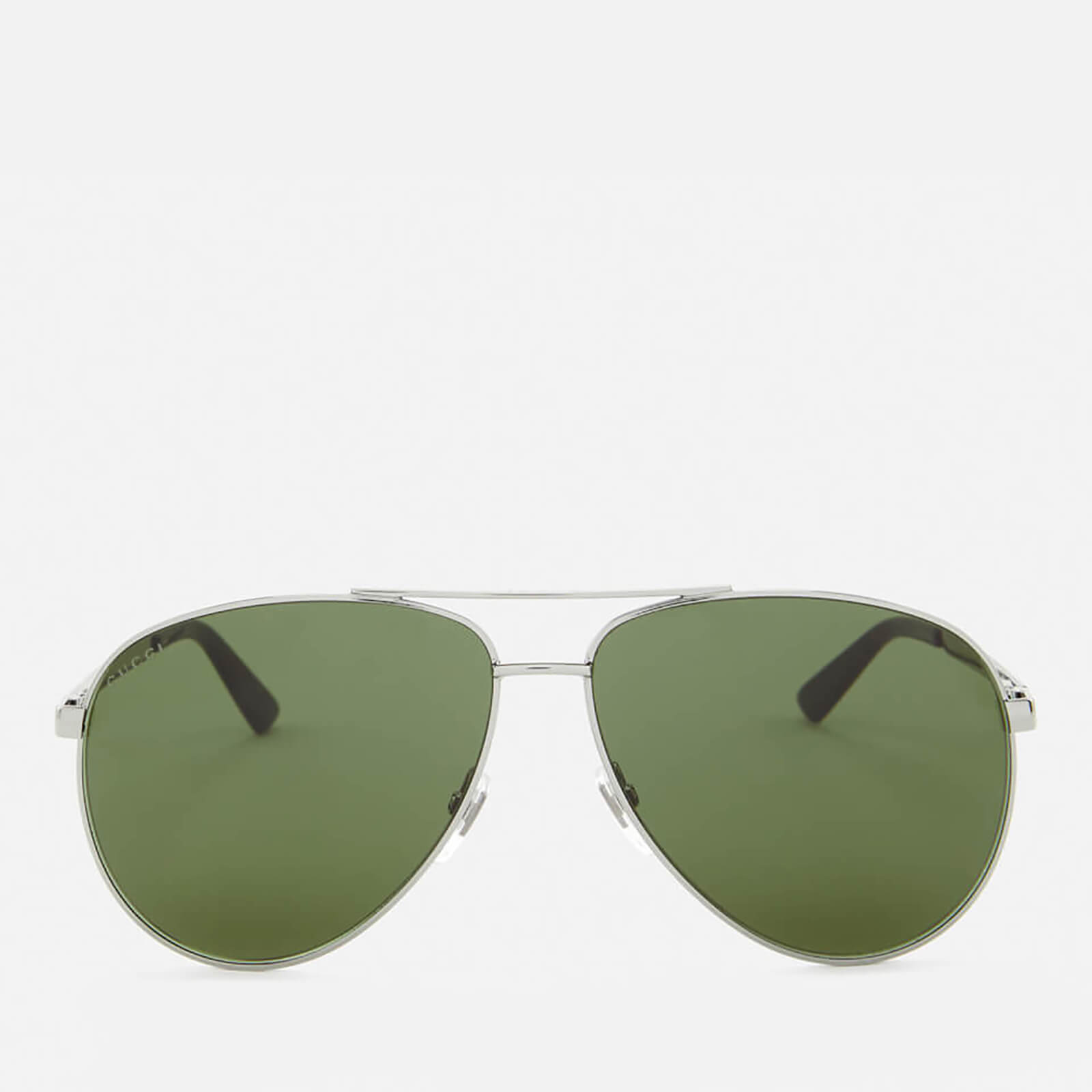 7213446ceb3 Gucci Men s Aviator Sunglasses - Green - Free UK Delivery over £50